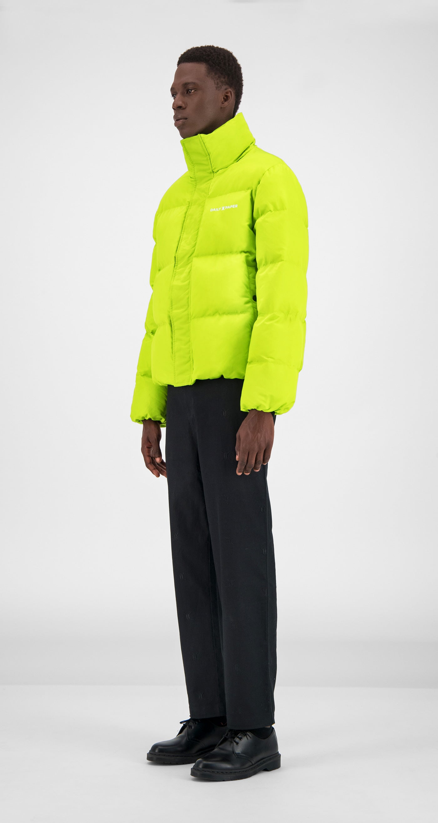 Daily Paper - Macaw Green Core Puffer Jacket Men
