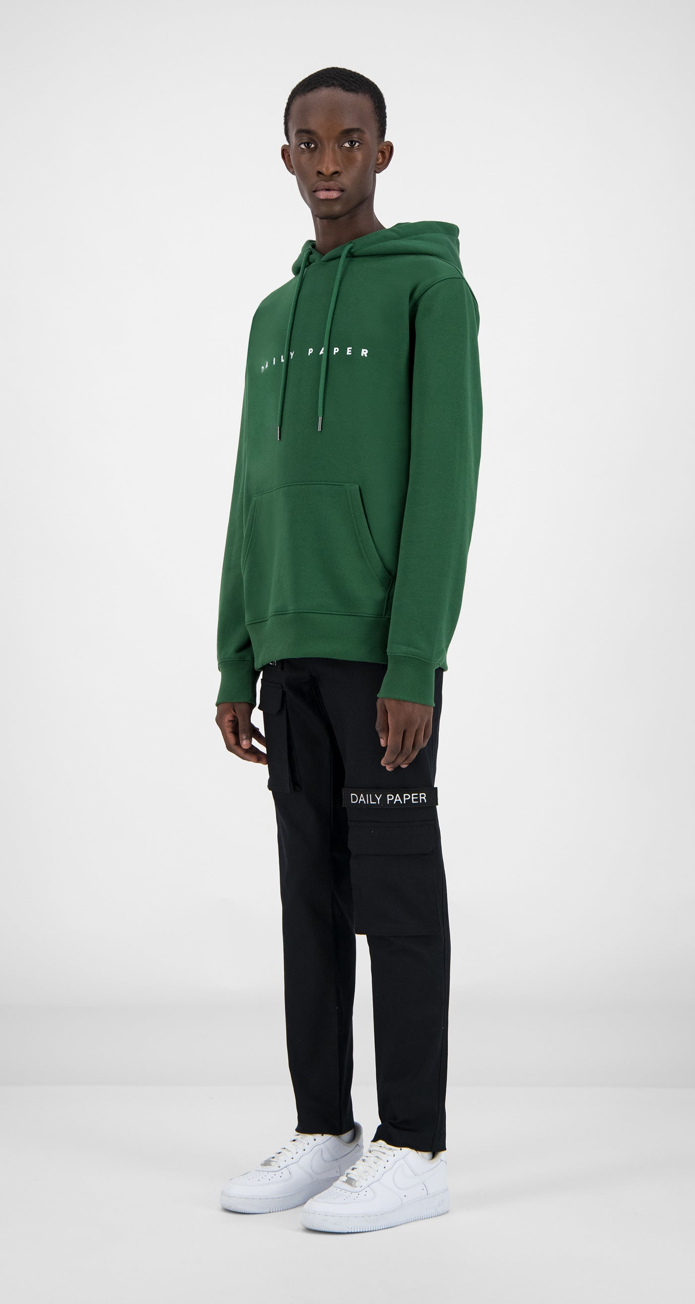 Daily Paper - Dark Green Alias Hoody Men