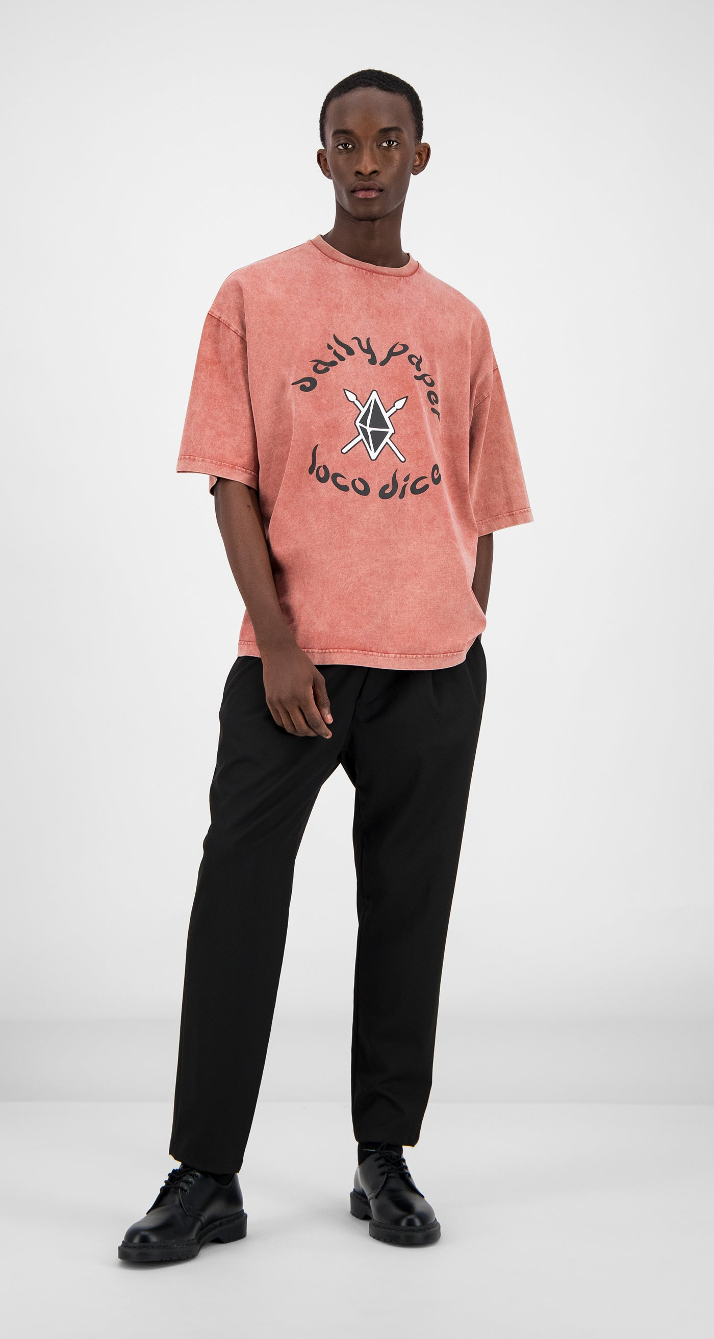 Daily Paper - Acid Red Zagora T-Shirt Men