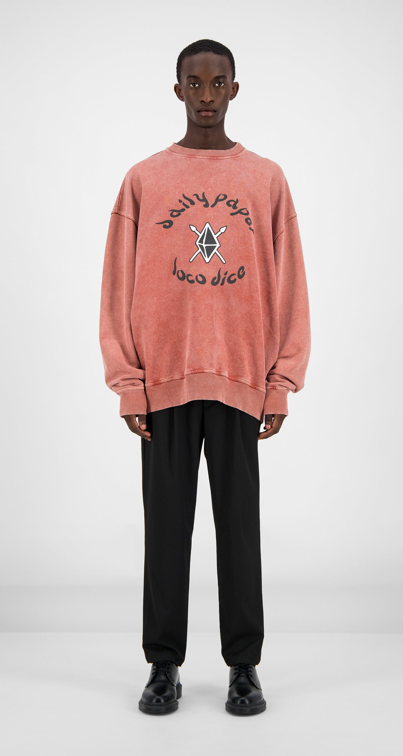 Daily Paper - Acid Red Zagora Sweater Men Front