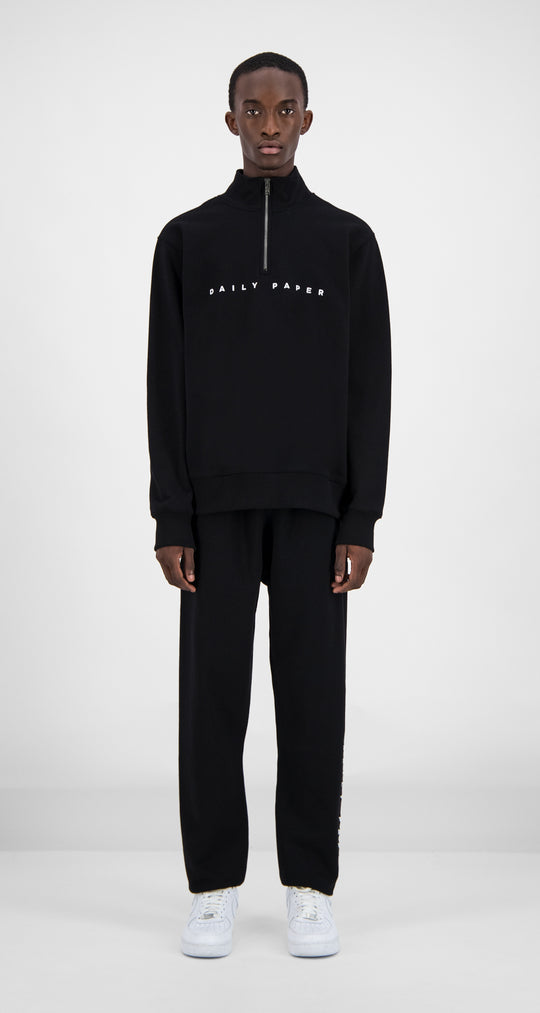 Daily Paper - Black Alias Pullover Men Front