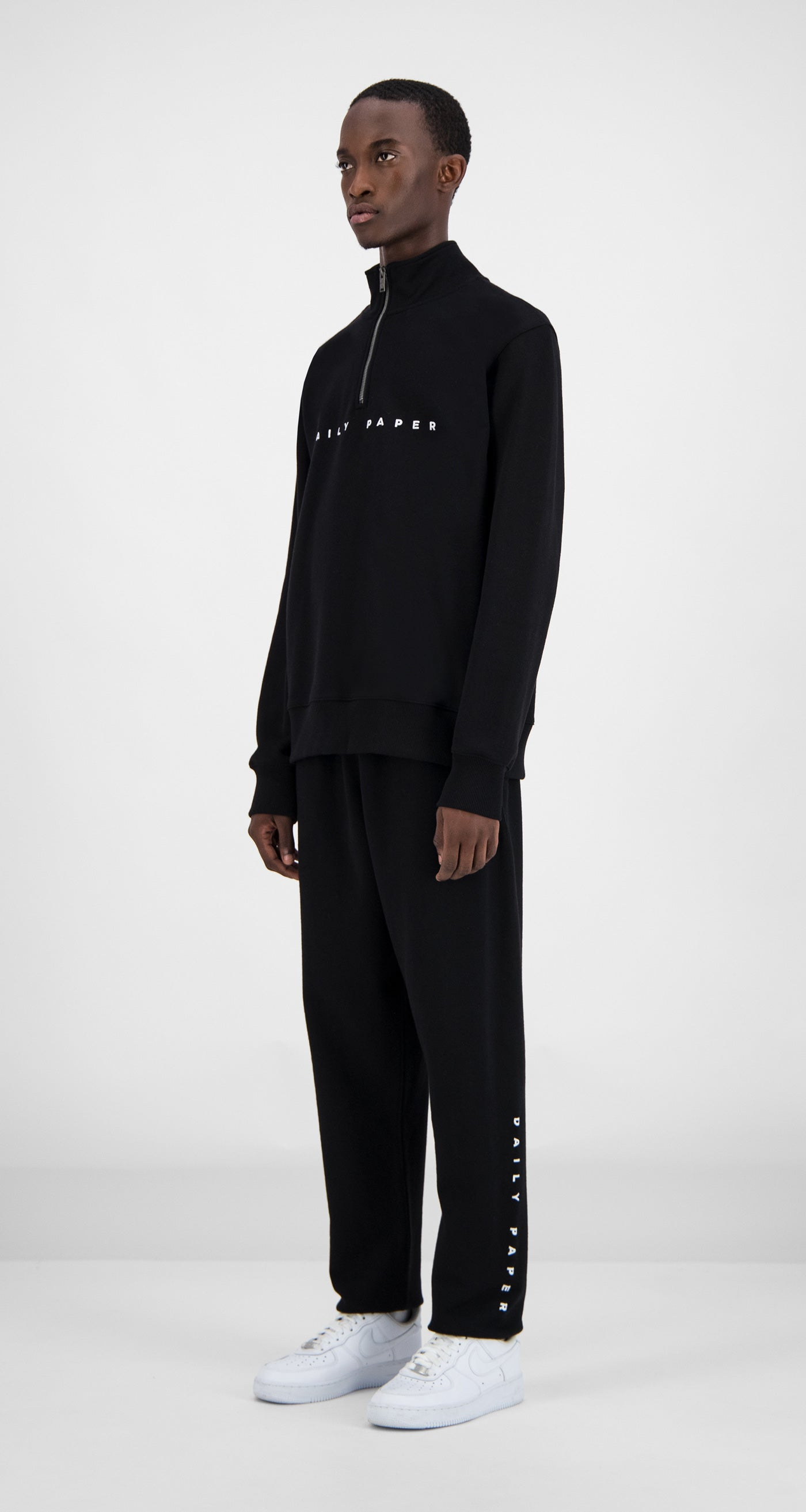 Daily Paper - Black Alias Pullover Men