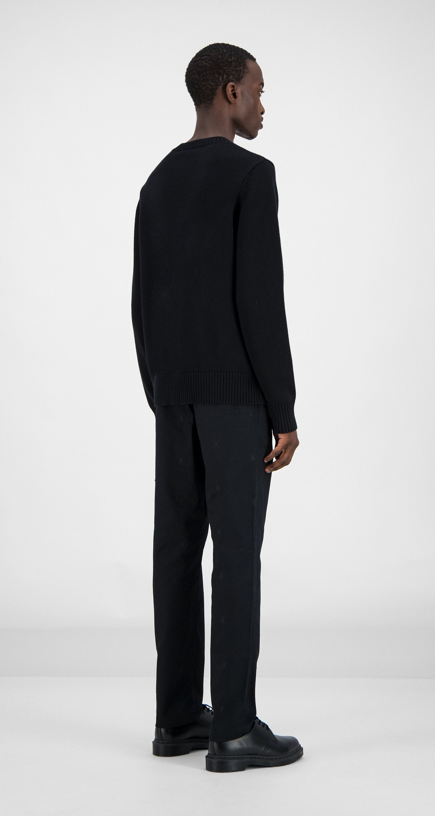 Daily Paper - Black Genet Sweater Men Rear