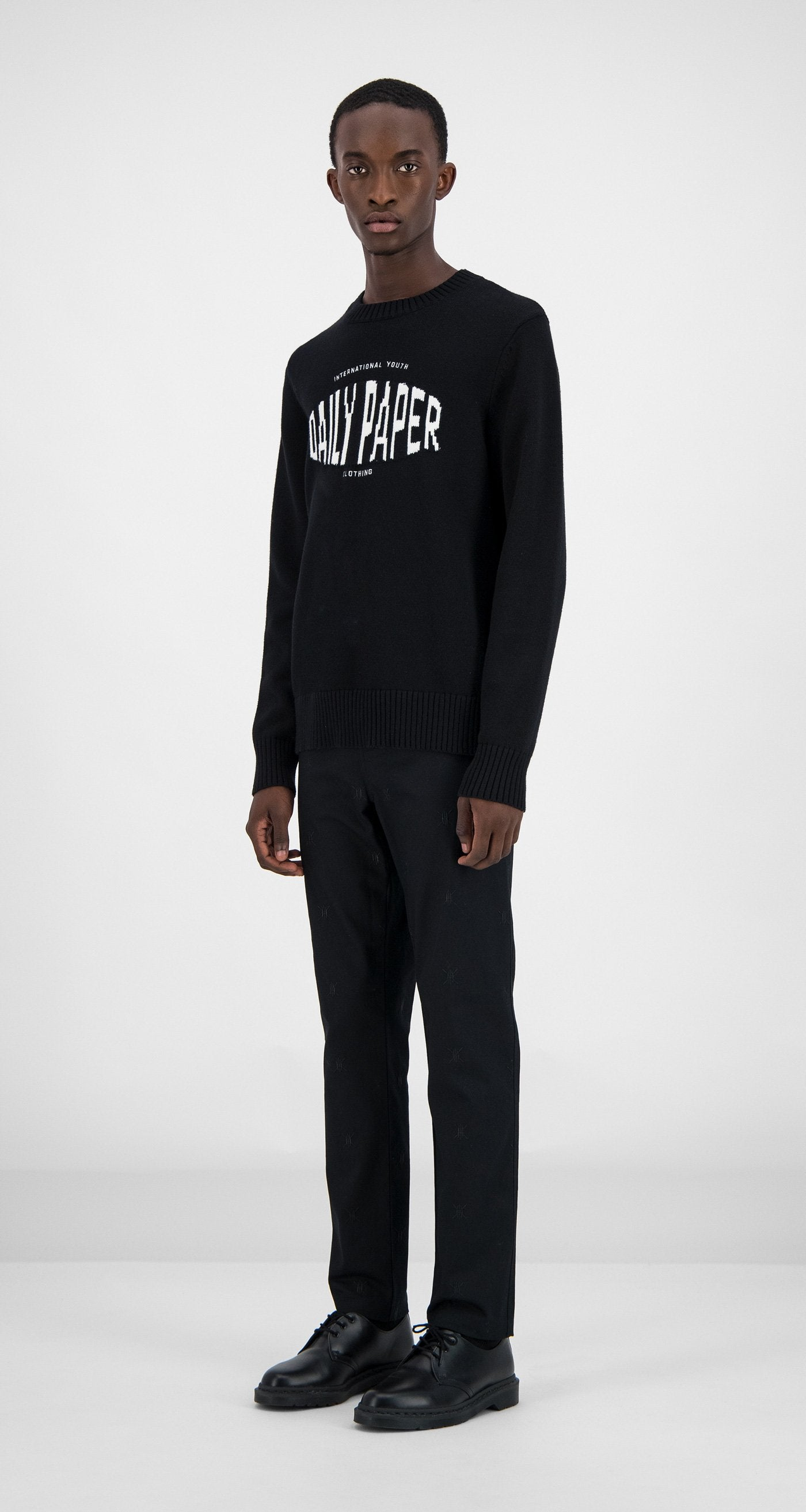Daily Paper - Black Genet Sweater Men