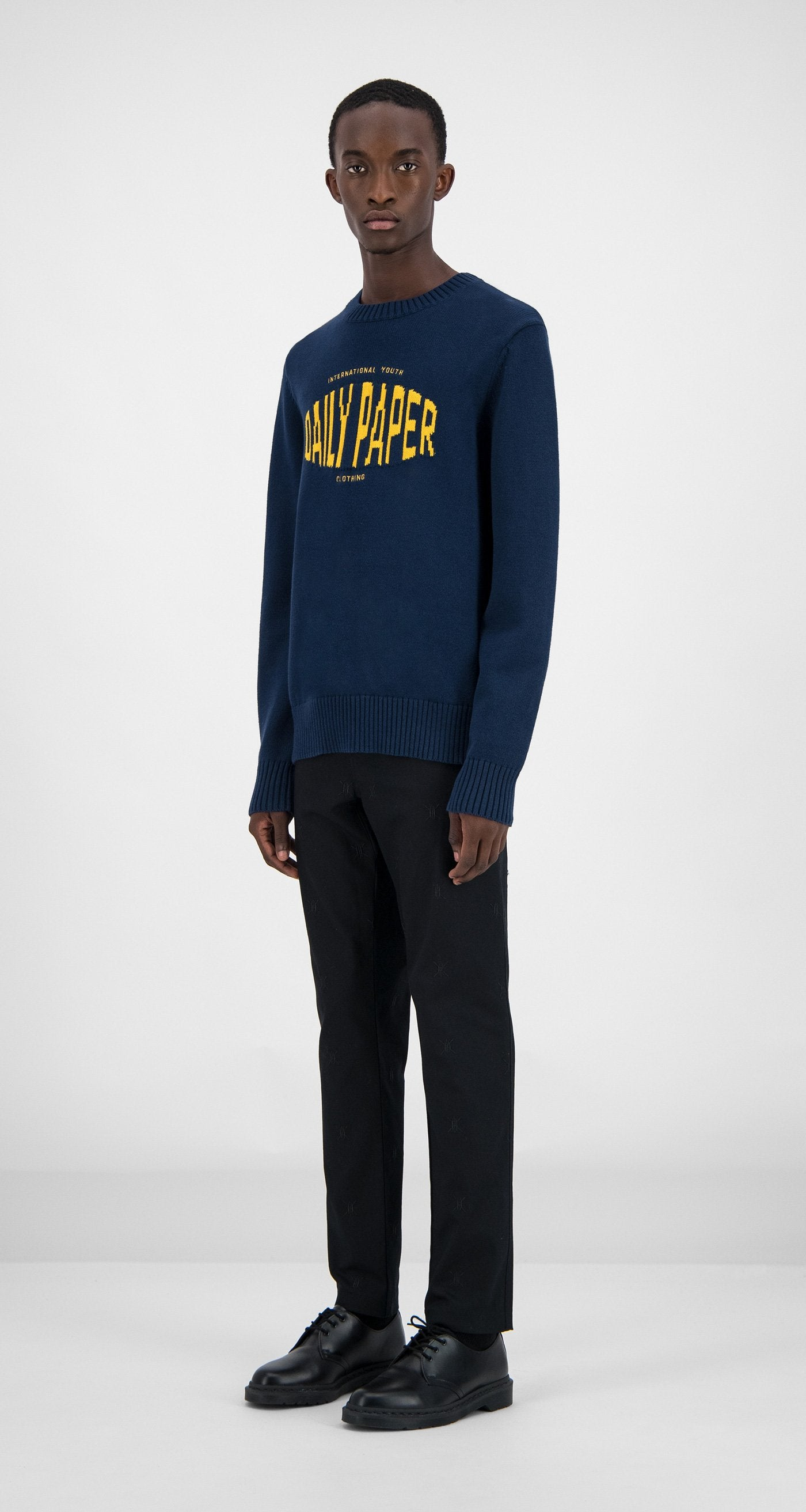 Daily Paper - Navy Genet Sweater Men