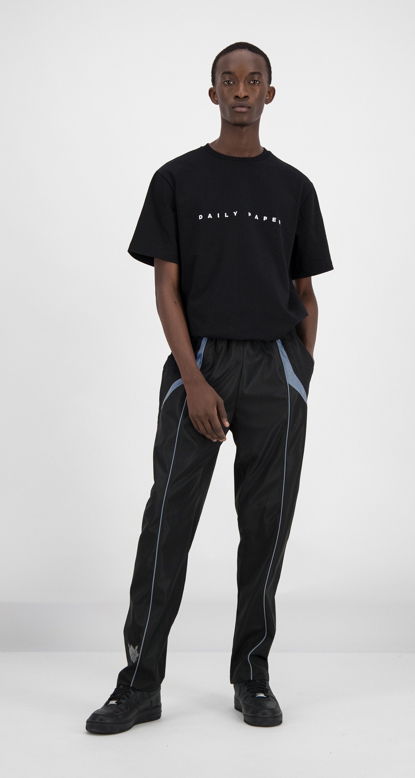 Daily Paper - Daily Paper x STARBOY Black Guka Pants Men
