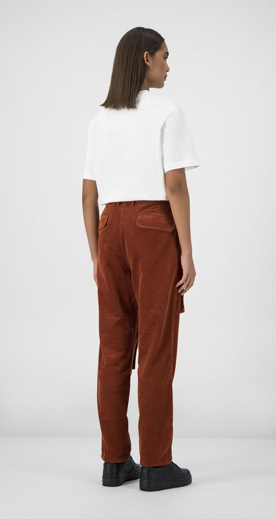 Daily Paper - Arabian Spice Corduroy Cargo Pants Women Rear