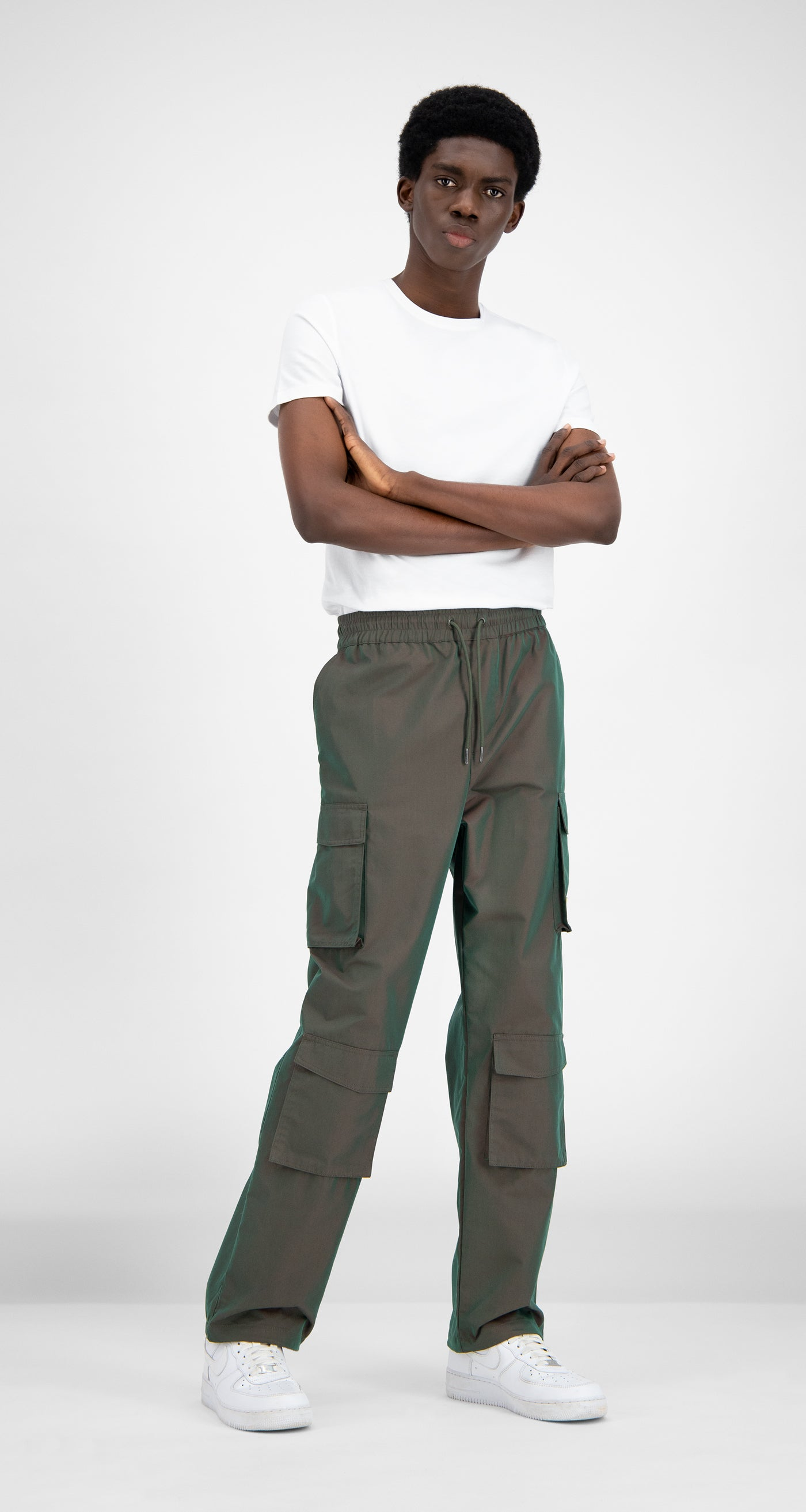 Daily Paper - Green Red Haben Pants - Men