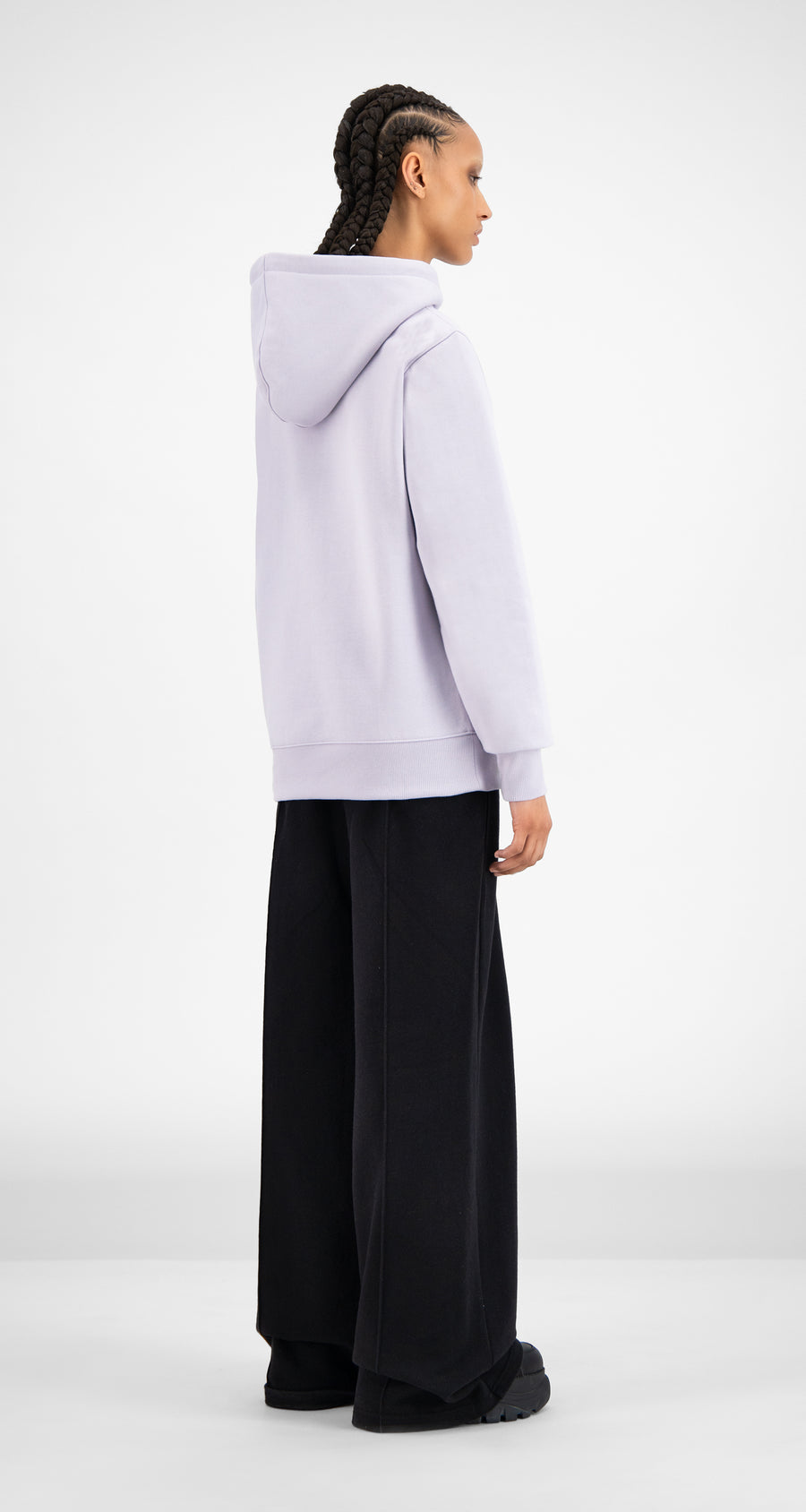 Daily Paper - Misty Lilac Hami Hoody - Women Rear