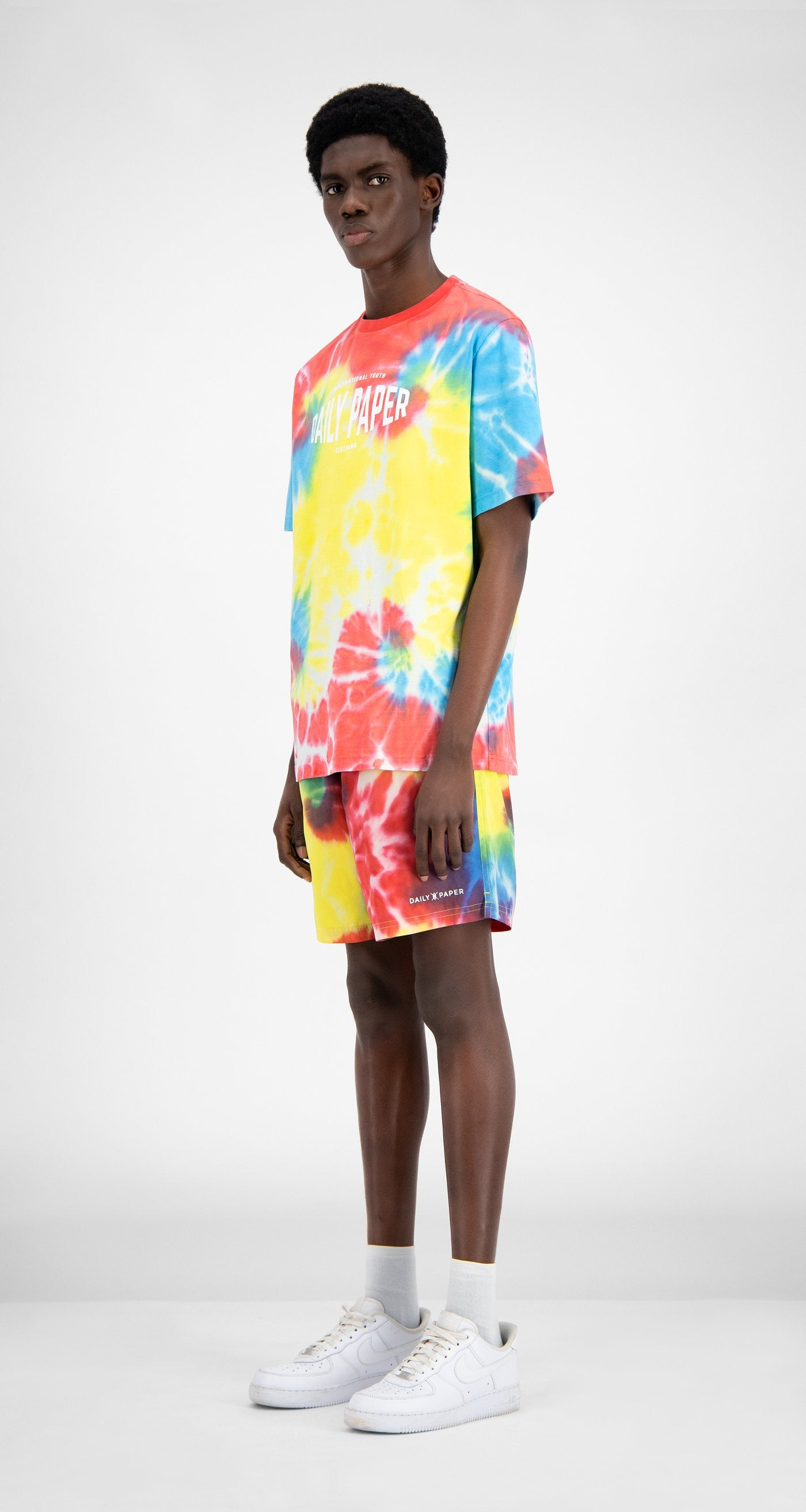 Daily Paper - Tie Dye Reprime Swim Shorts - Men