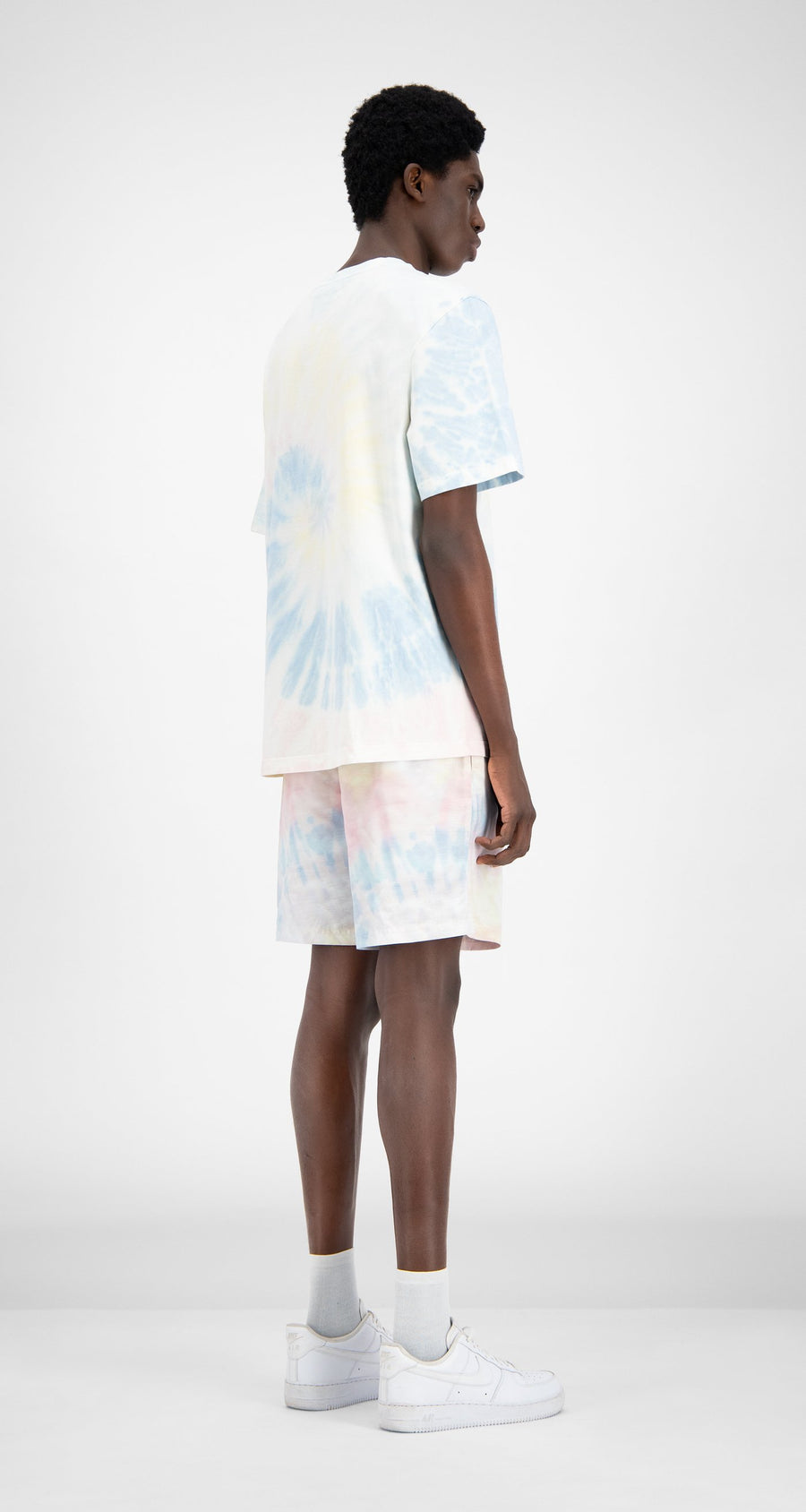 Daily Paper - Tie Dye Repast Swim Shorts - Men Rear