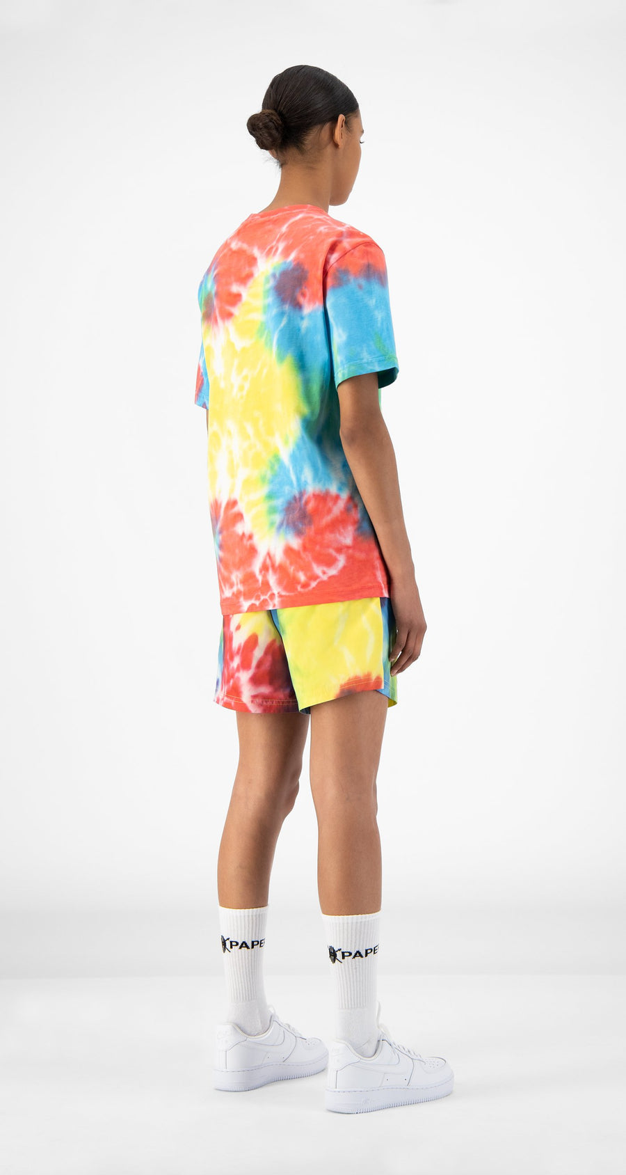 Daily Paper - Tie Dye Reprime T-Shirt - Women Rear