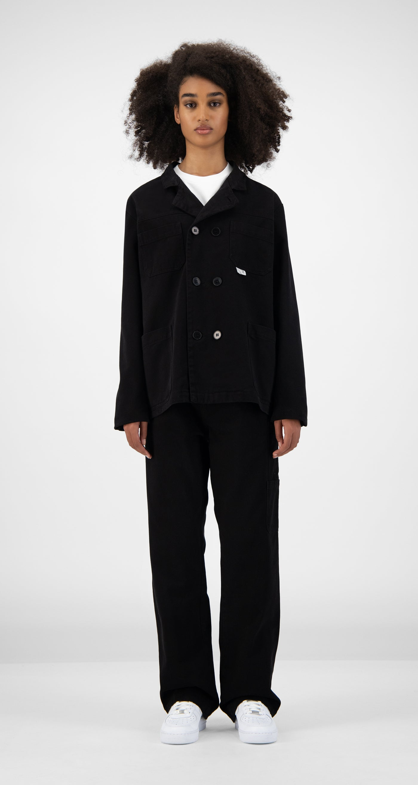 Daily Paper x Bonne Suits - Black Suit - Women Front