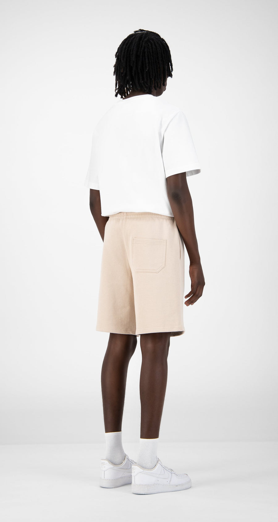Daily Paper - Beige Eshort - Men Rear