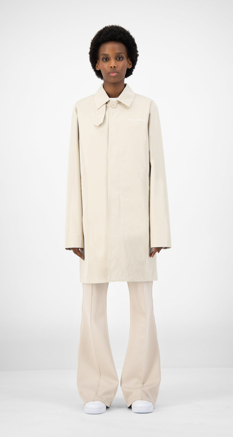 Daily Paper - Beige Emad Jacket - Women Front