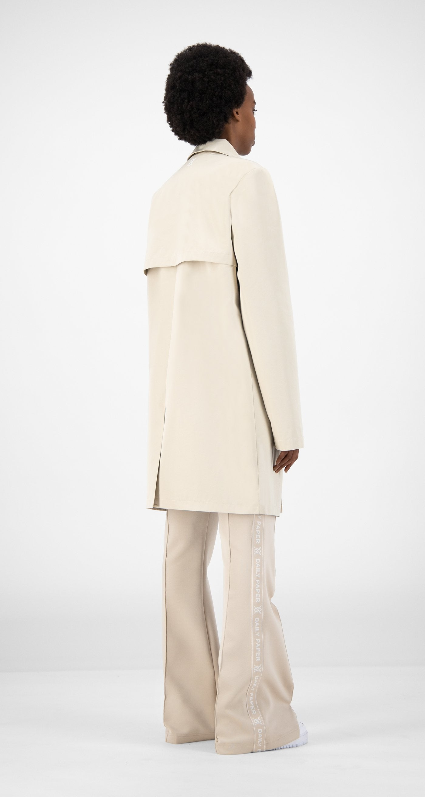Daily Paper - Beige Emad Jacket - Women Rear