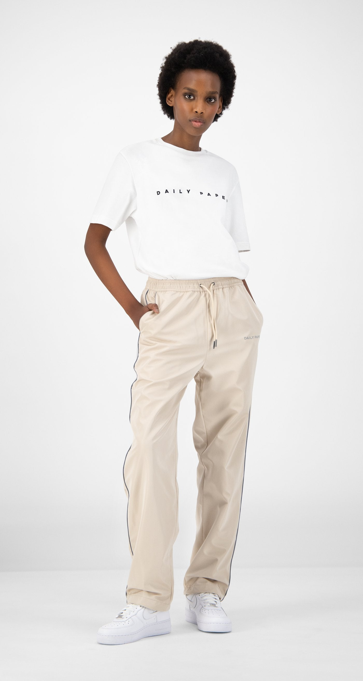 Daily Paper - Beige Etrack Pants - Women