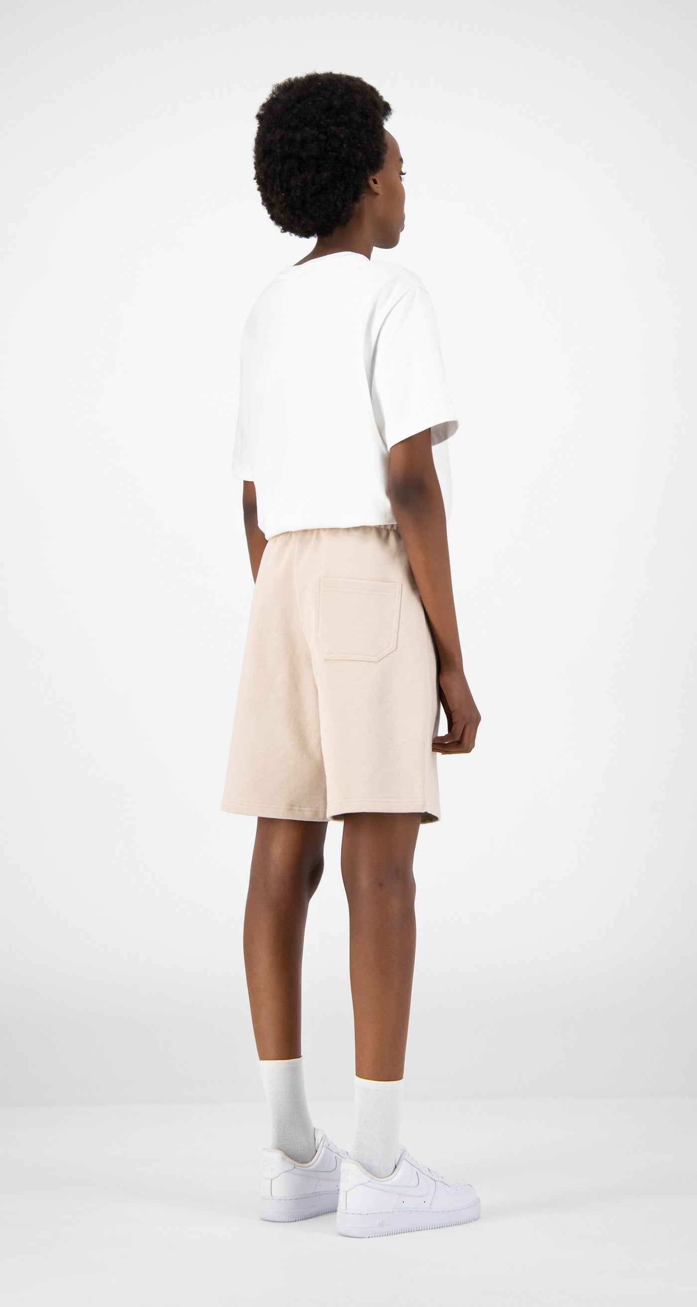 Daily Paper - Beige Eshort - Women Rear