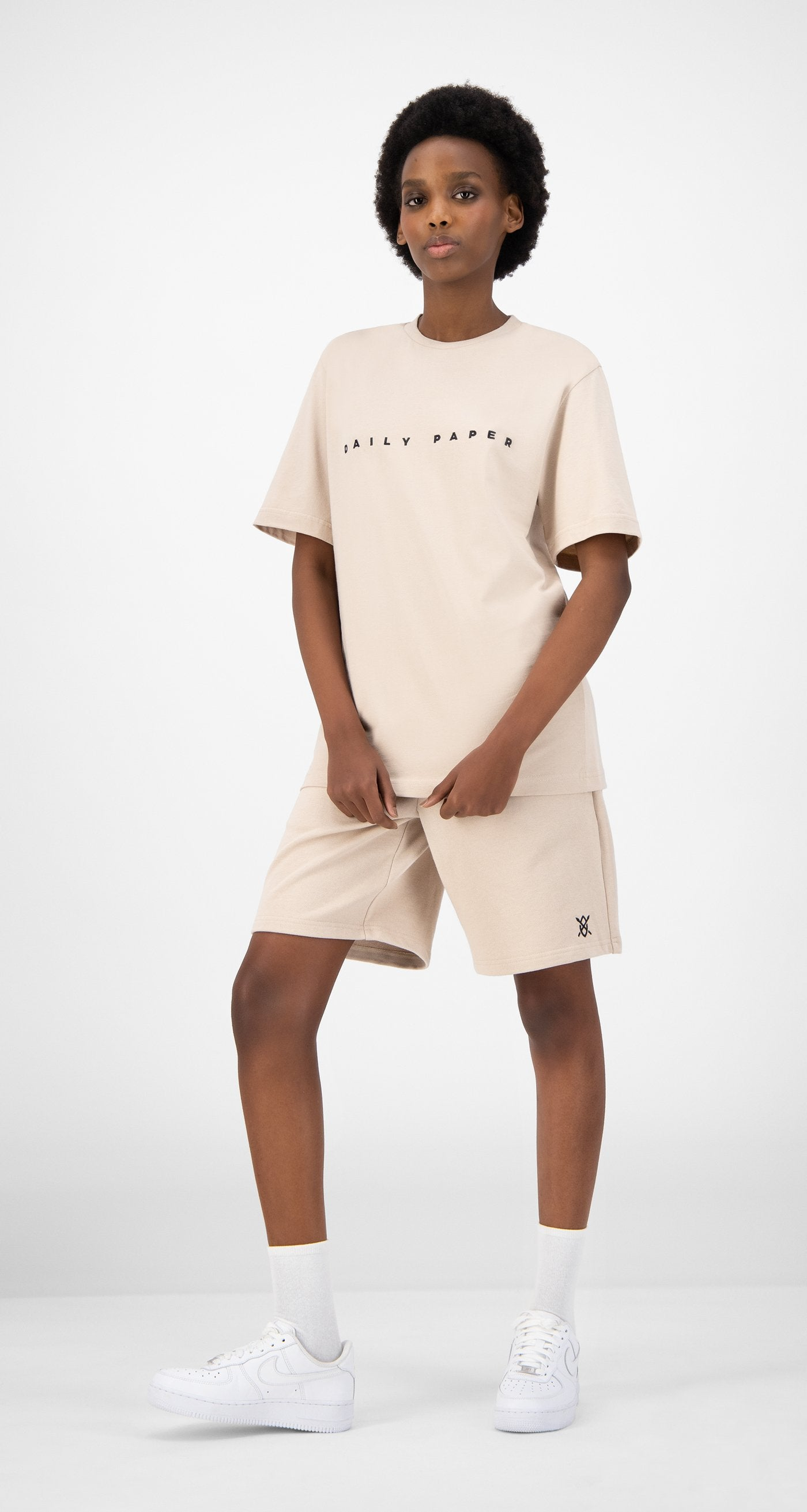 Daily Paper - Beige Elias T-Shirt - Women
