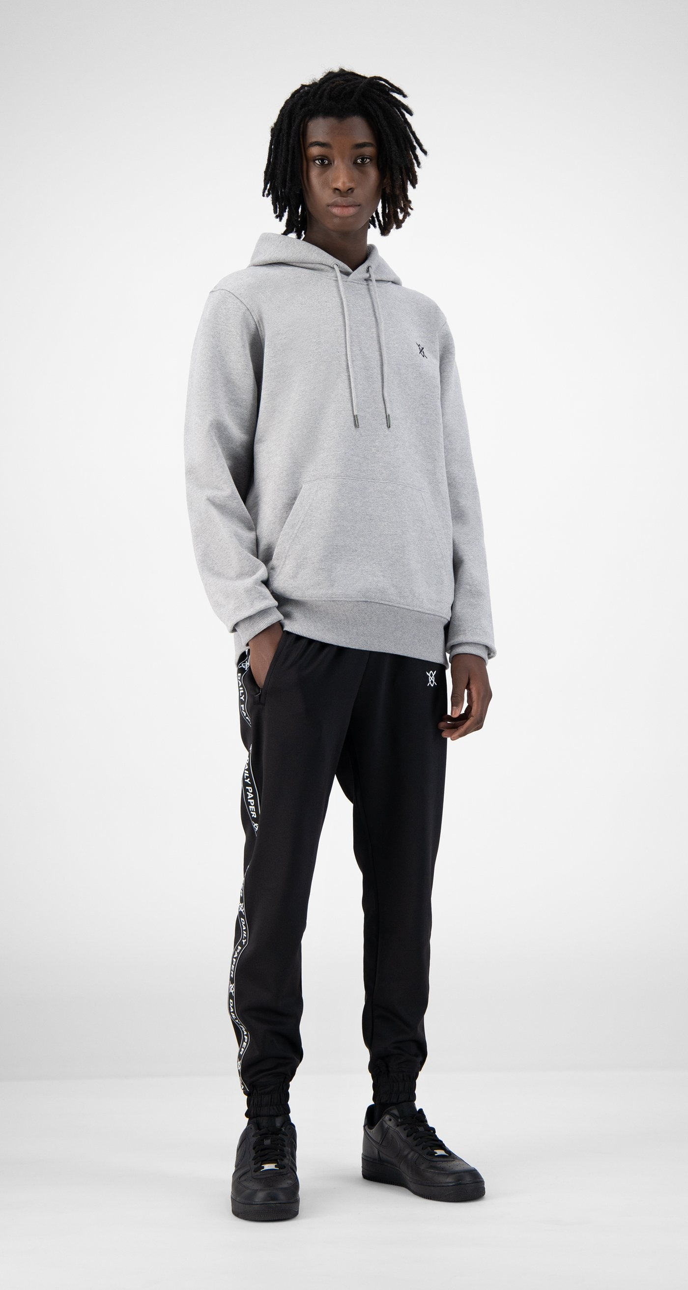 Daily Paper - Grey Eshield Hoody - Men