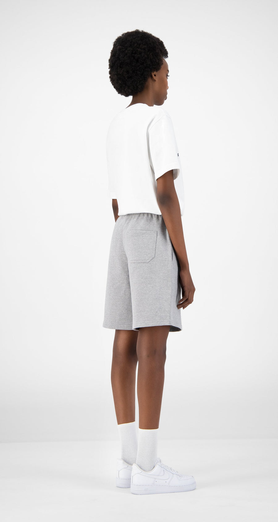Daily Paper - Grey Eshort - Women Rear
