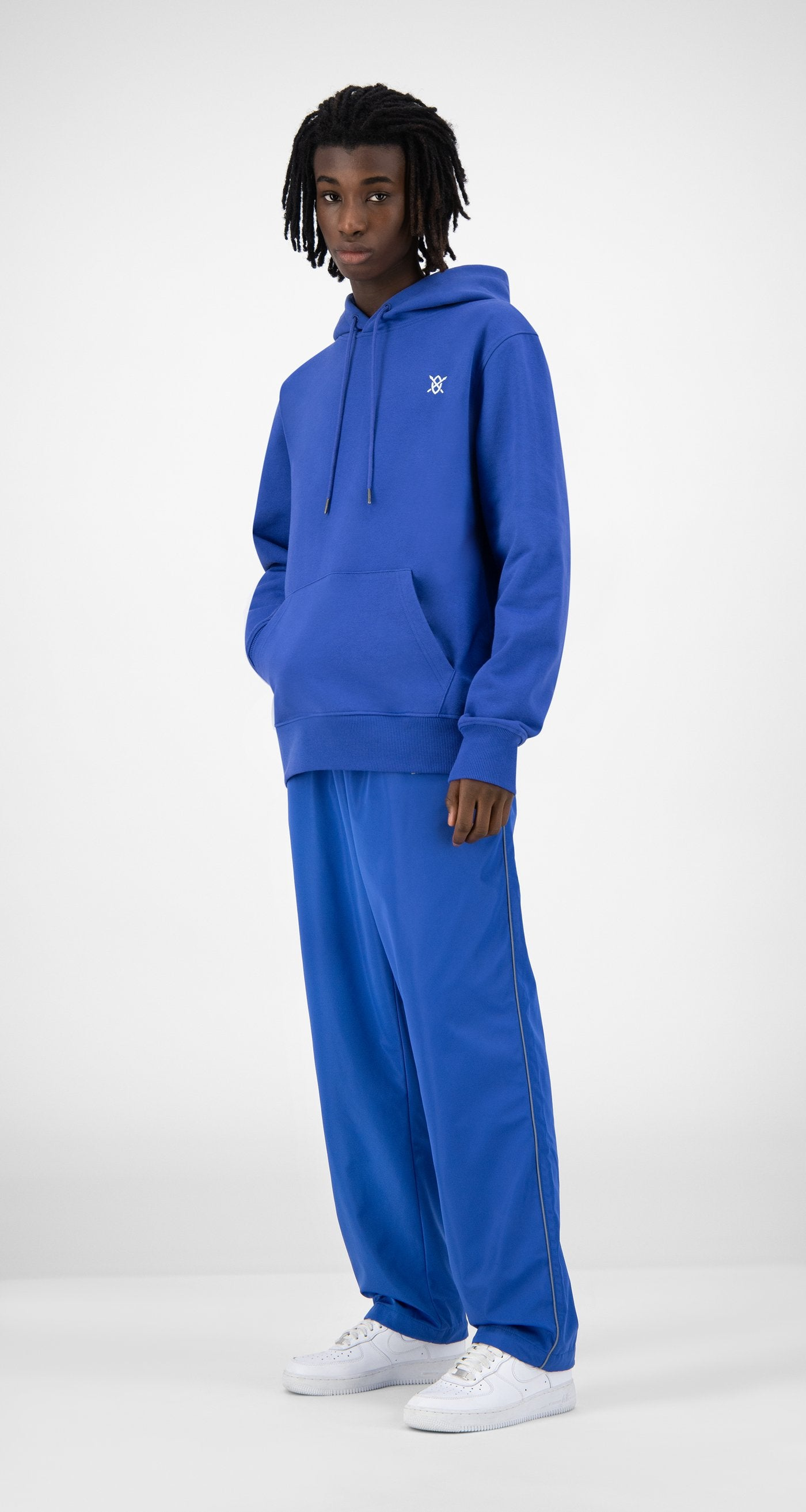 Daily Paper - Blue Eshield Hoody - Men