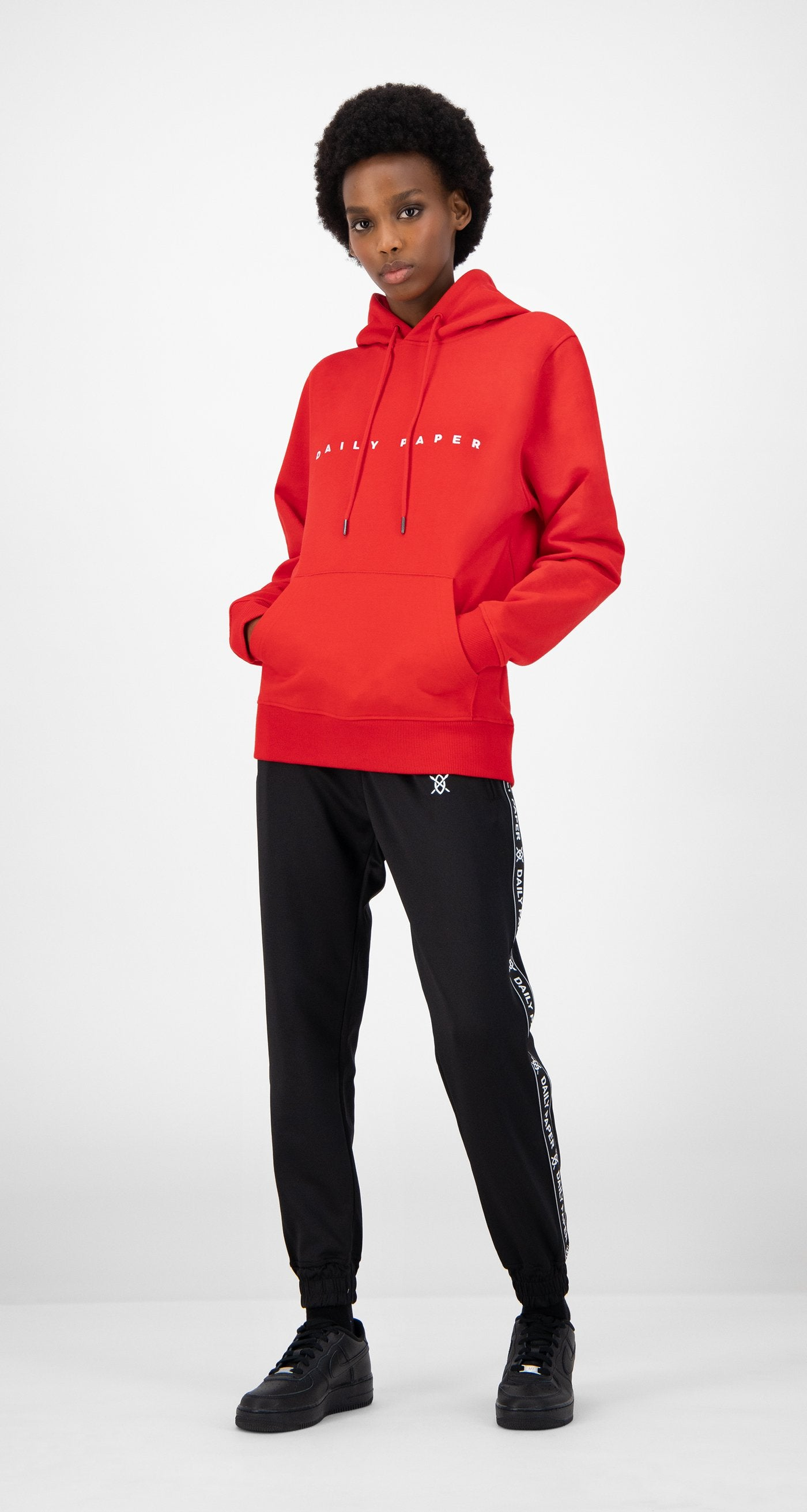 Daily Paper - Red Elias Hoody - Women
