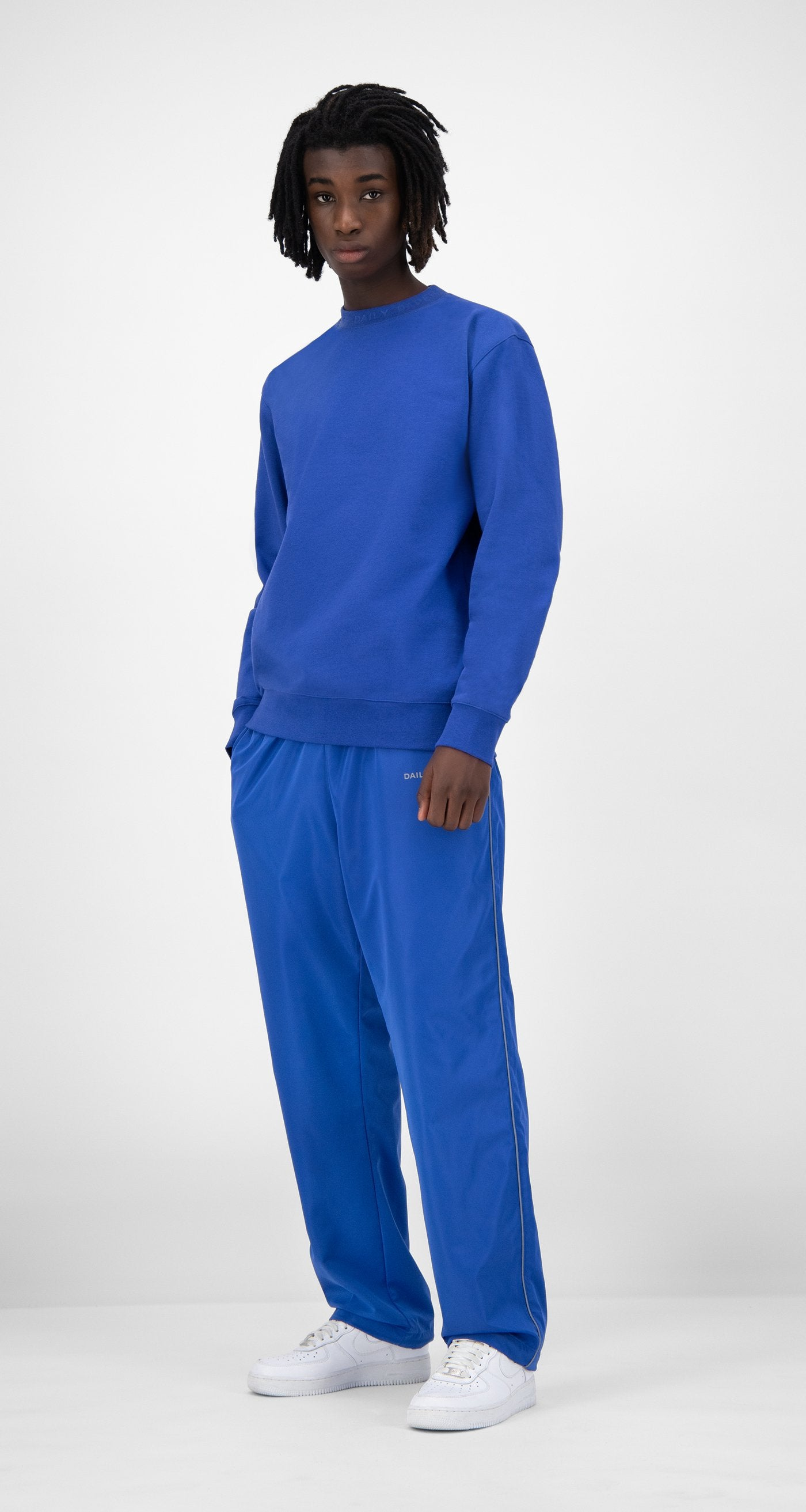 Daily Paper - Blue Derib Sweater - Men