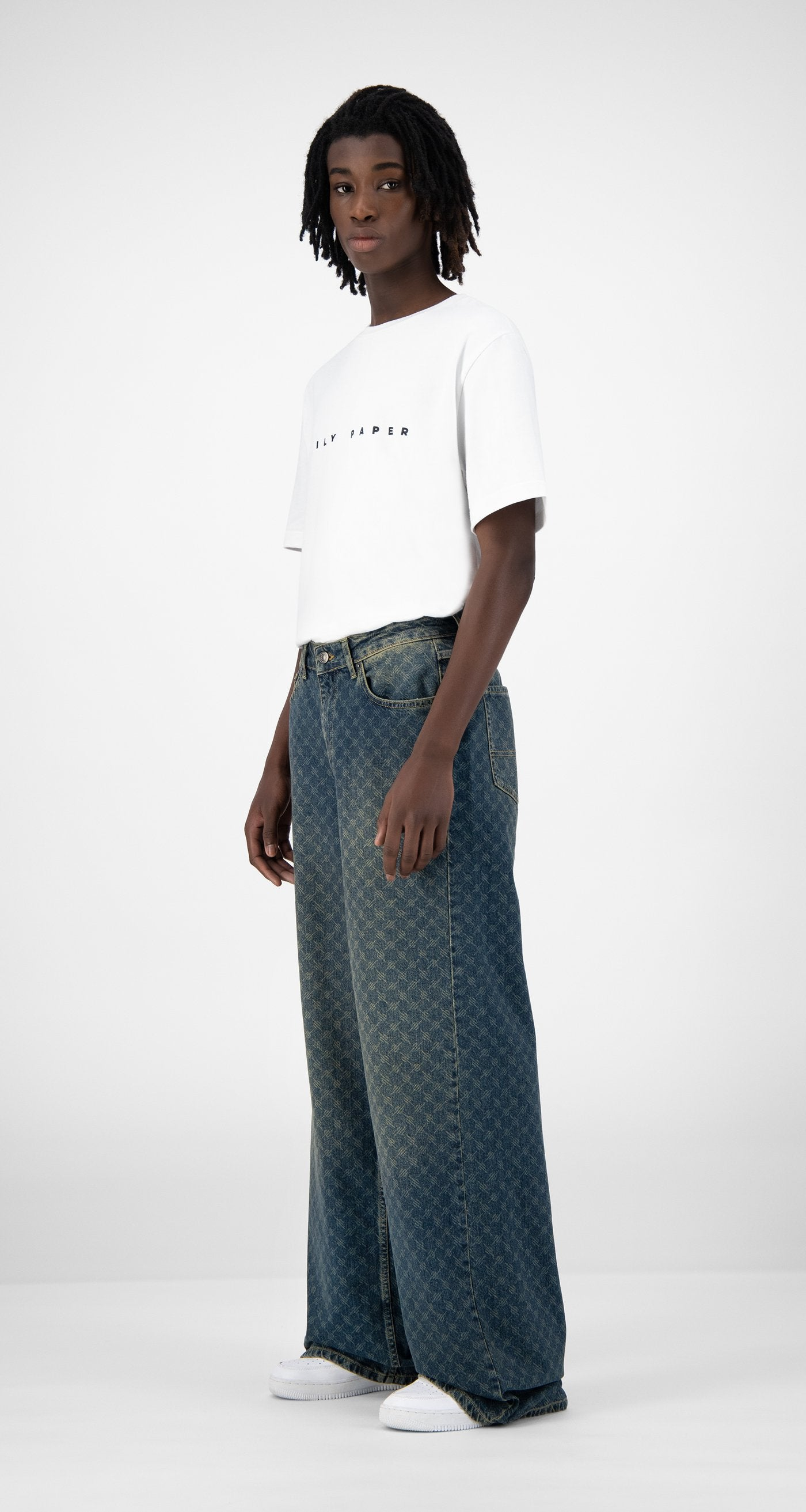 Daily Paper - Vintage Blue Kikir Pants - Men