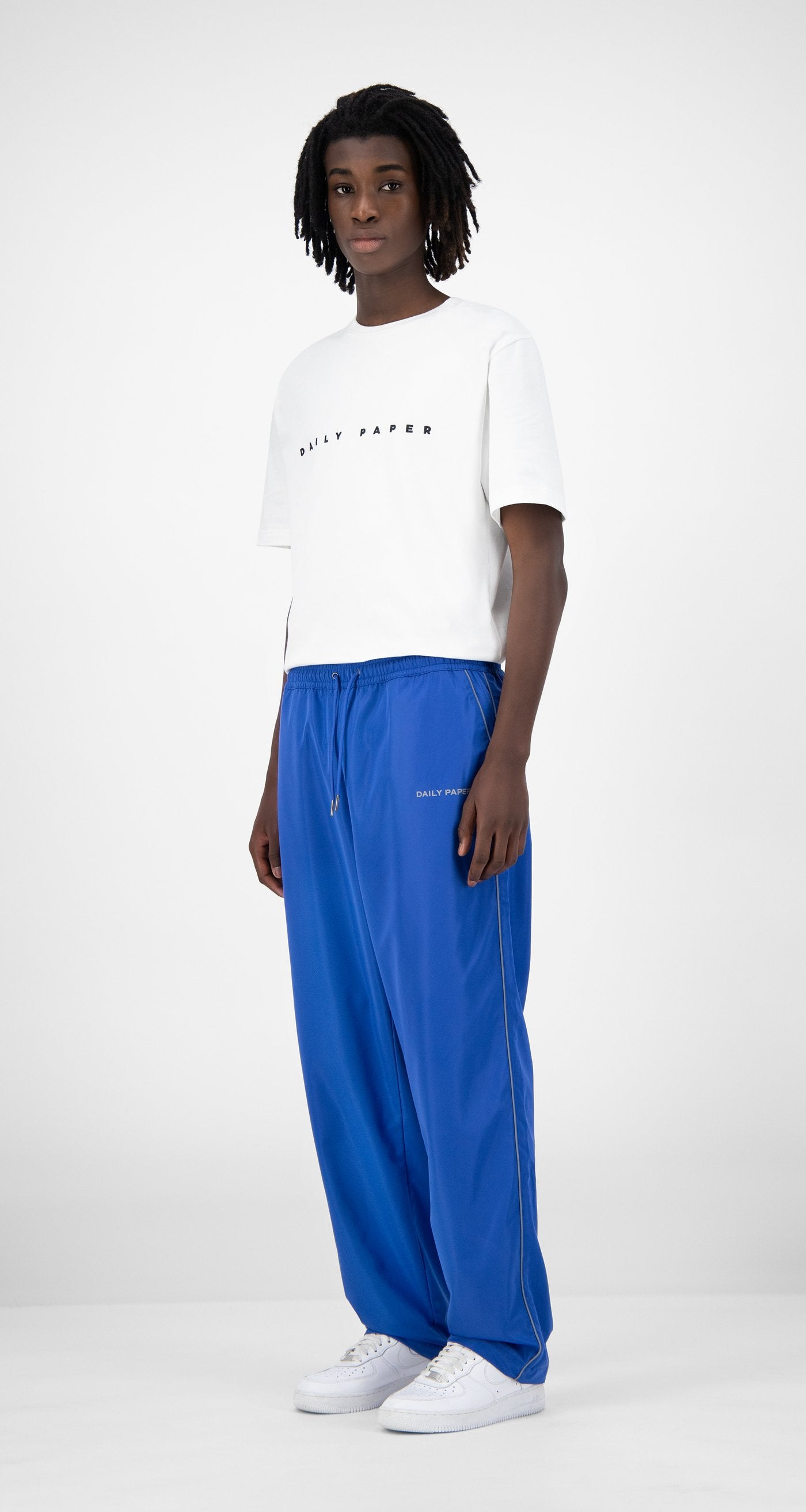 Daily Paper - Blue Etrack Pants - Men