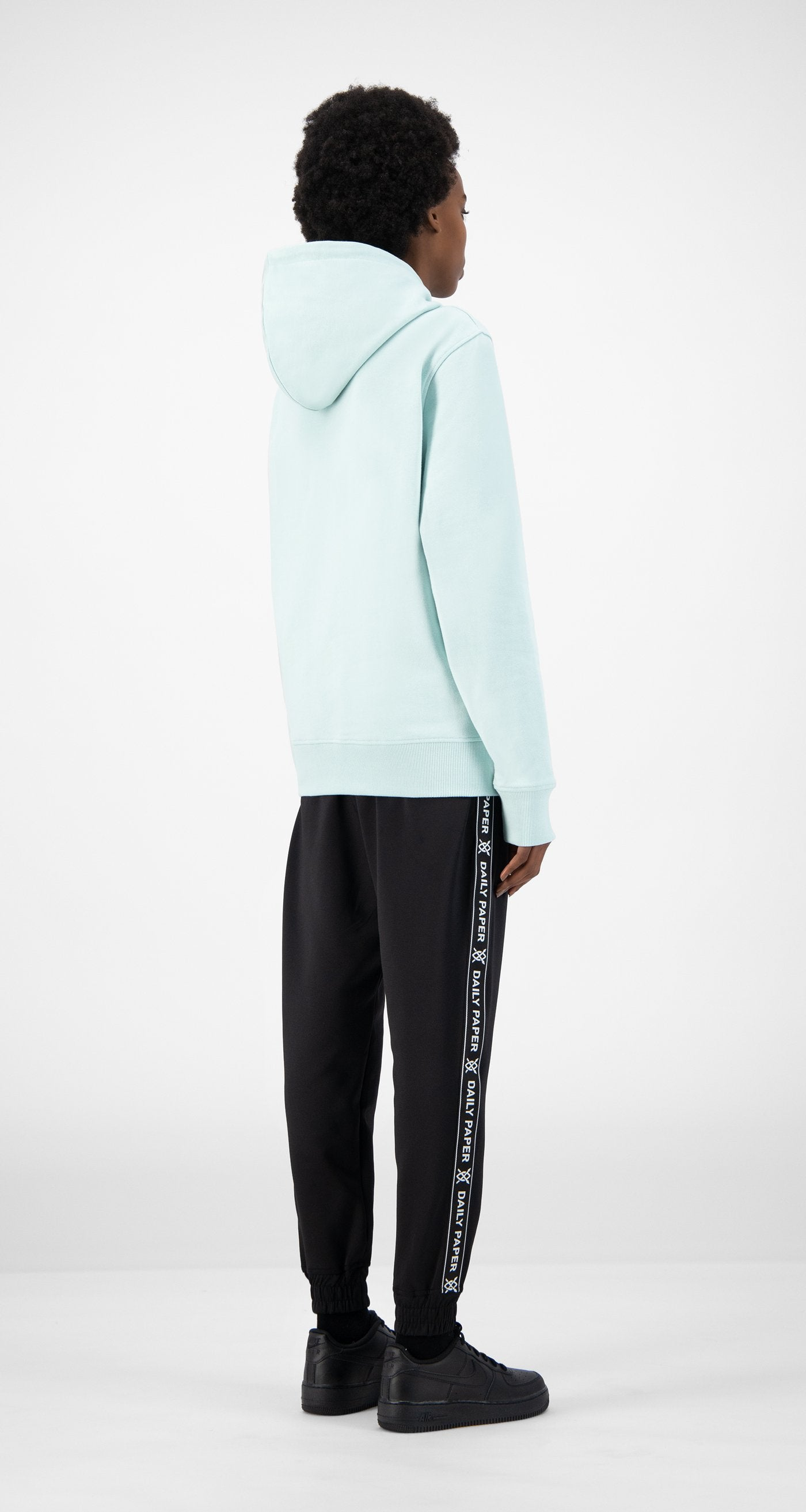 Daily Paper - Pastel Turquoise Elias Hoody - Women Rear