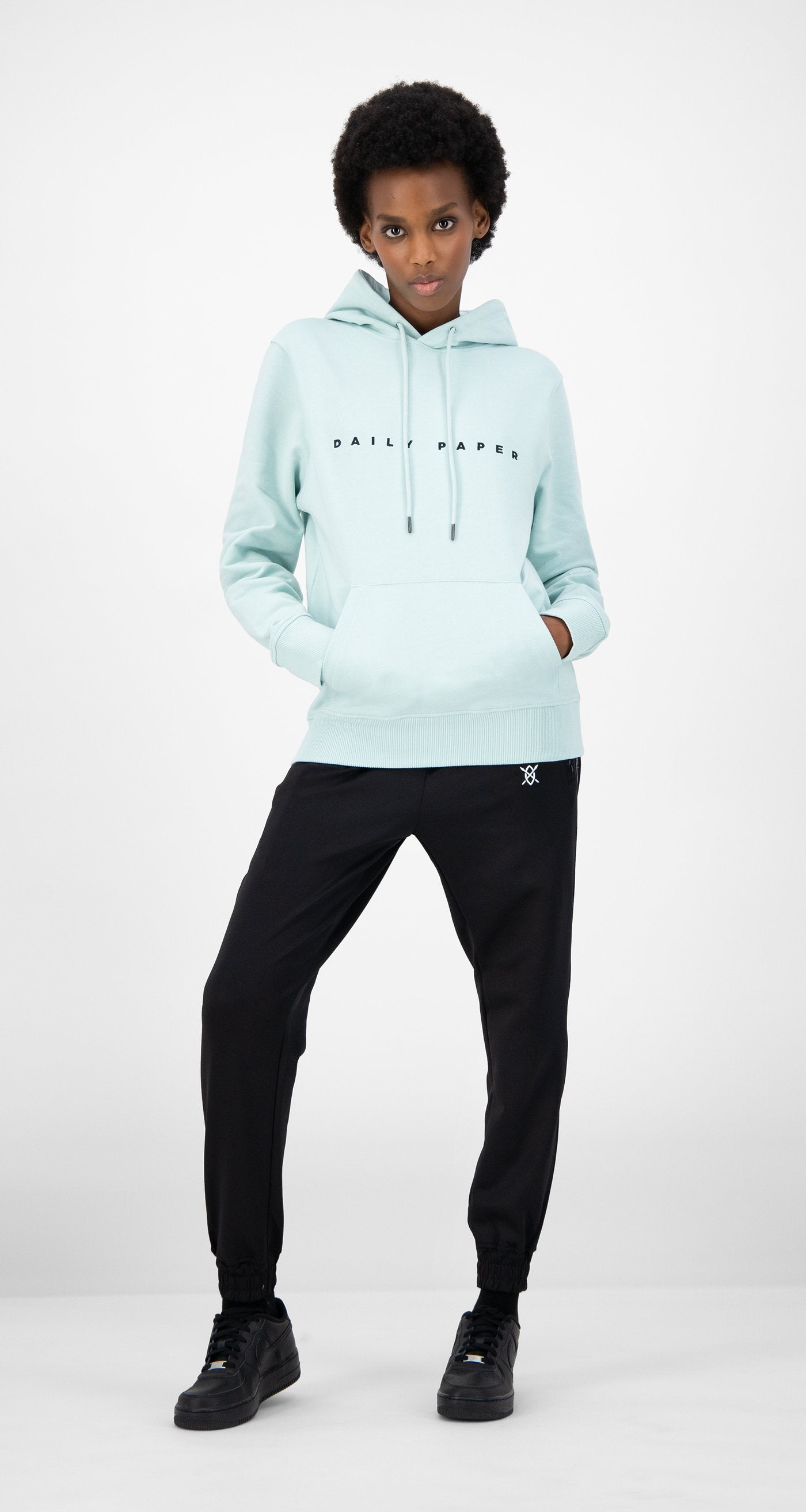Daily Paper - Pastel Turquoise Elias Hoody - Women