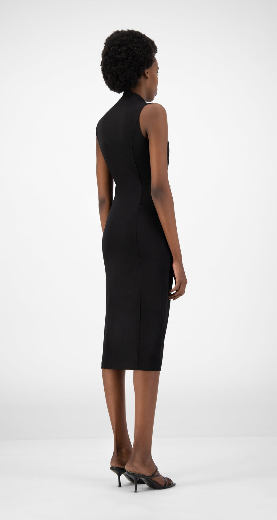 Daily Paper - Black Econ Dress - Women Rear