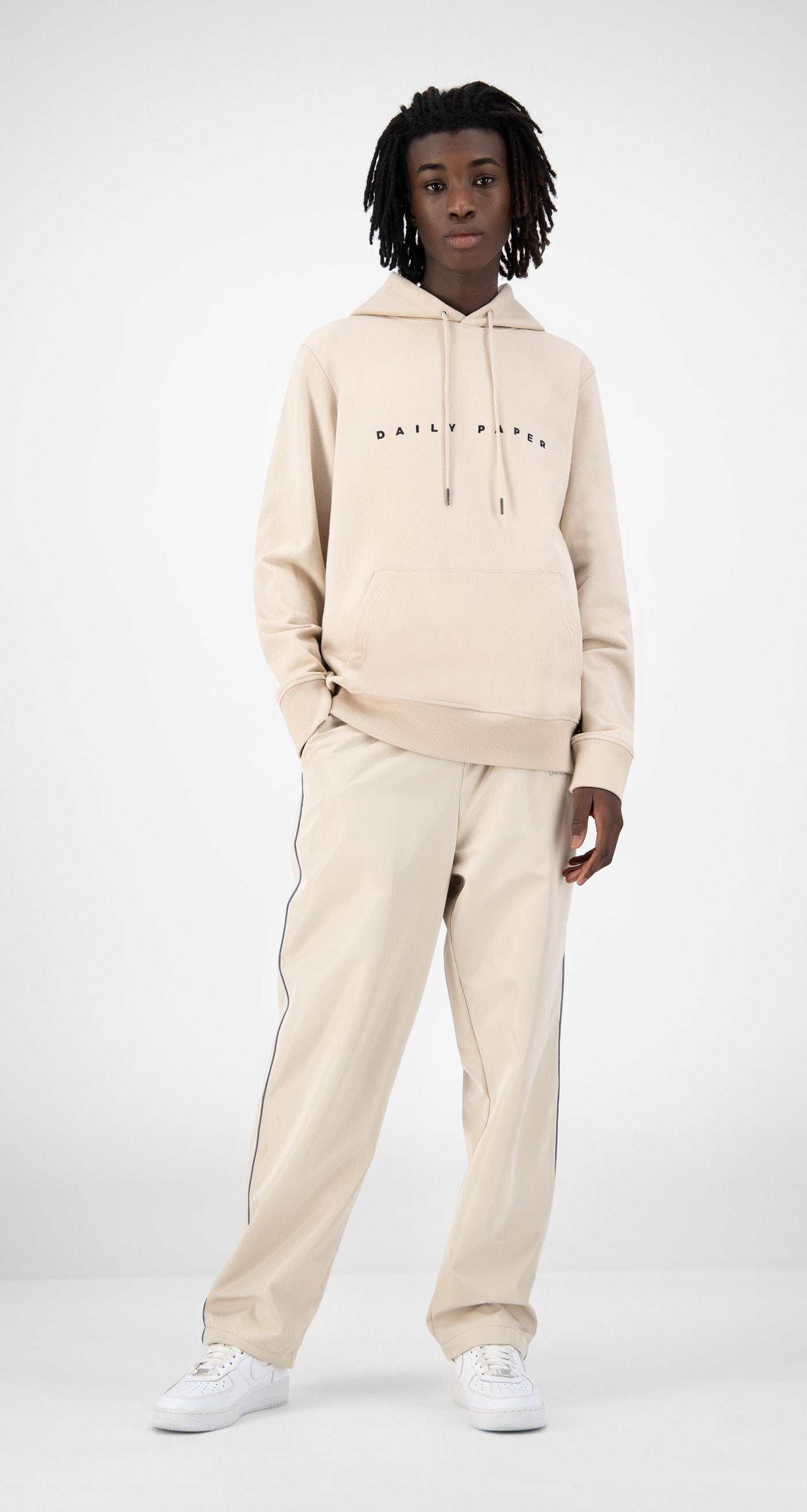 Daily Paper - Beige Elias Hoody - Men