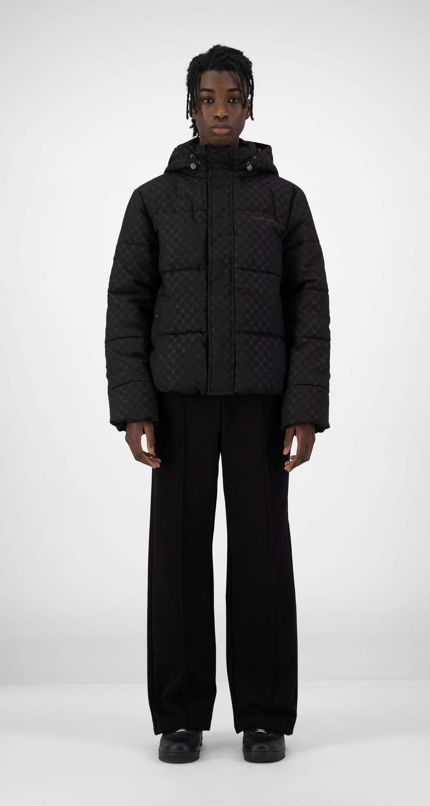 Daily Paper - Black Hopuff Jacket - Men Front