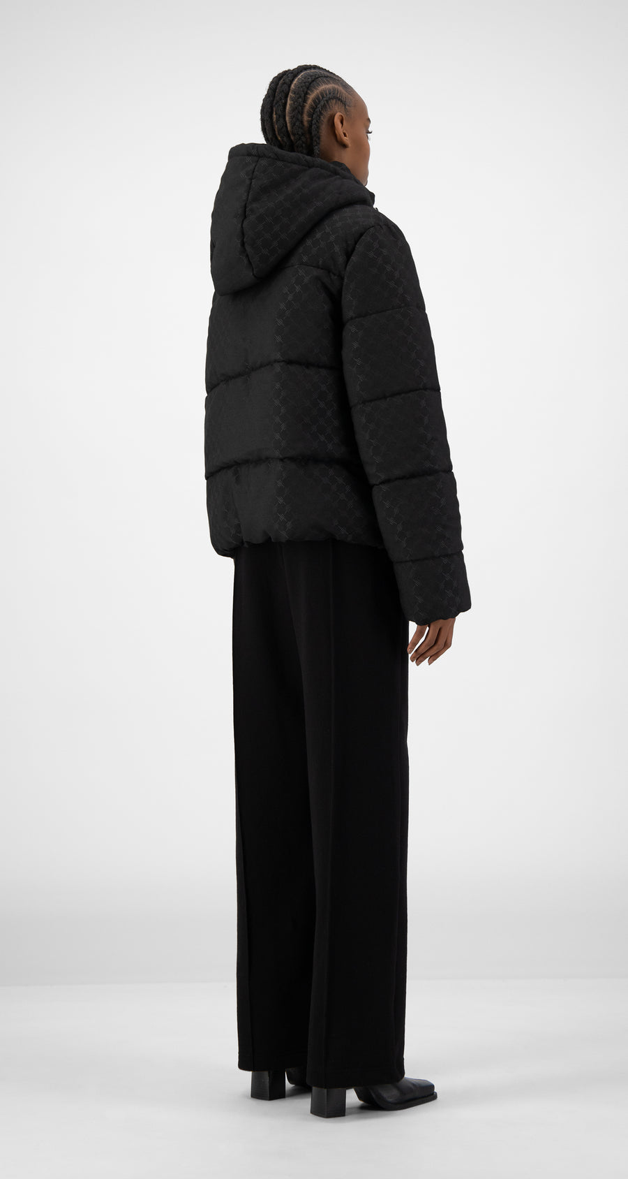 Daily Paper - Black Hopuff Jacket - Women Rear