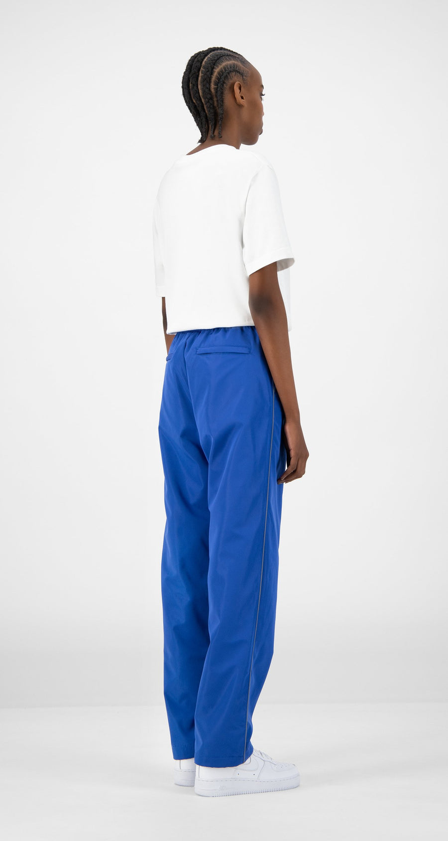 Daily Paper - Blue Etrack Pants - Women Rear