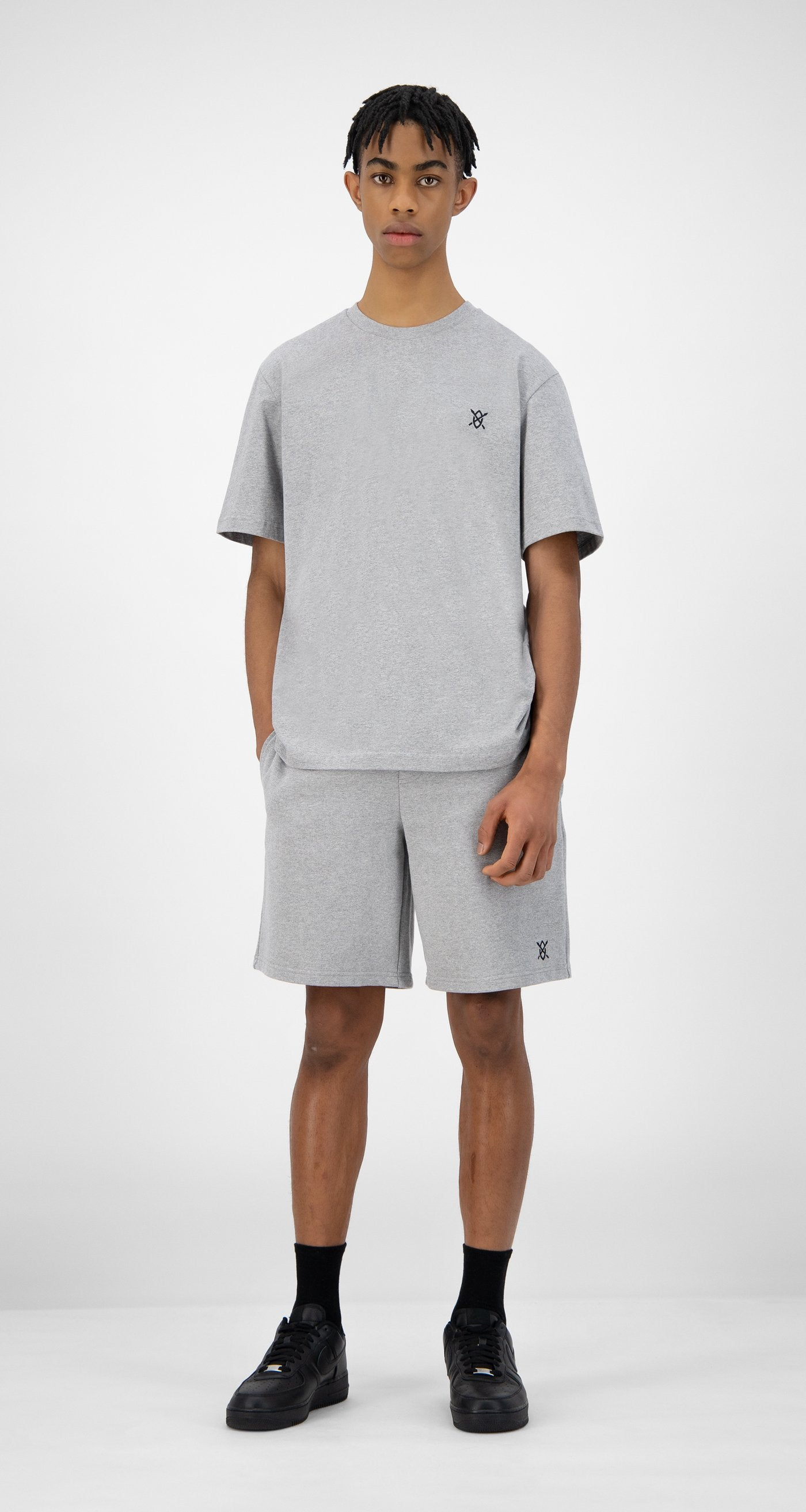 Daily Paper - Grey Eshield T-Shirt - Men