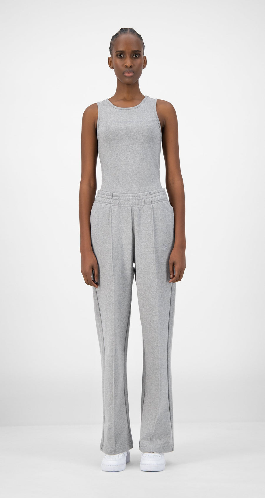 Daily Paper - Grey Ejog Pants - Women Front