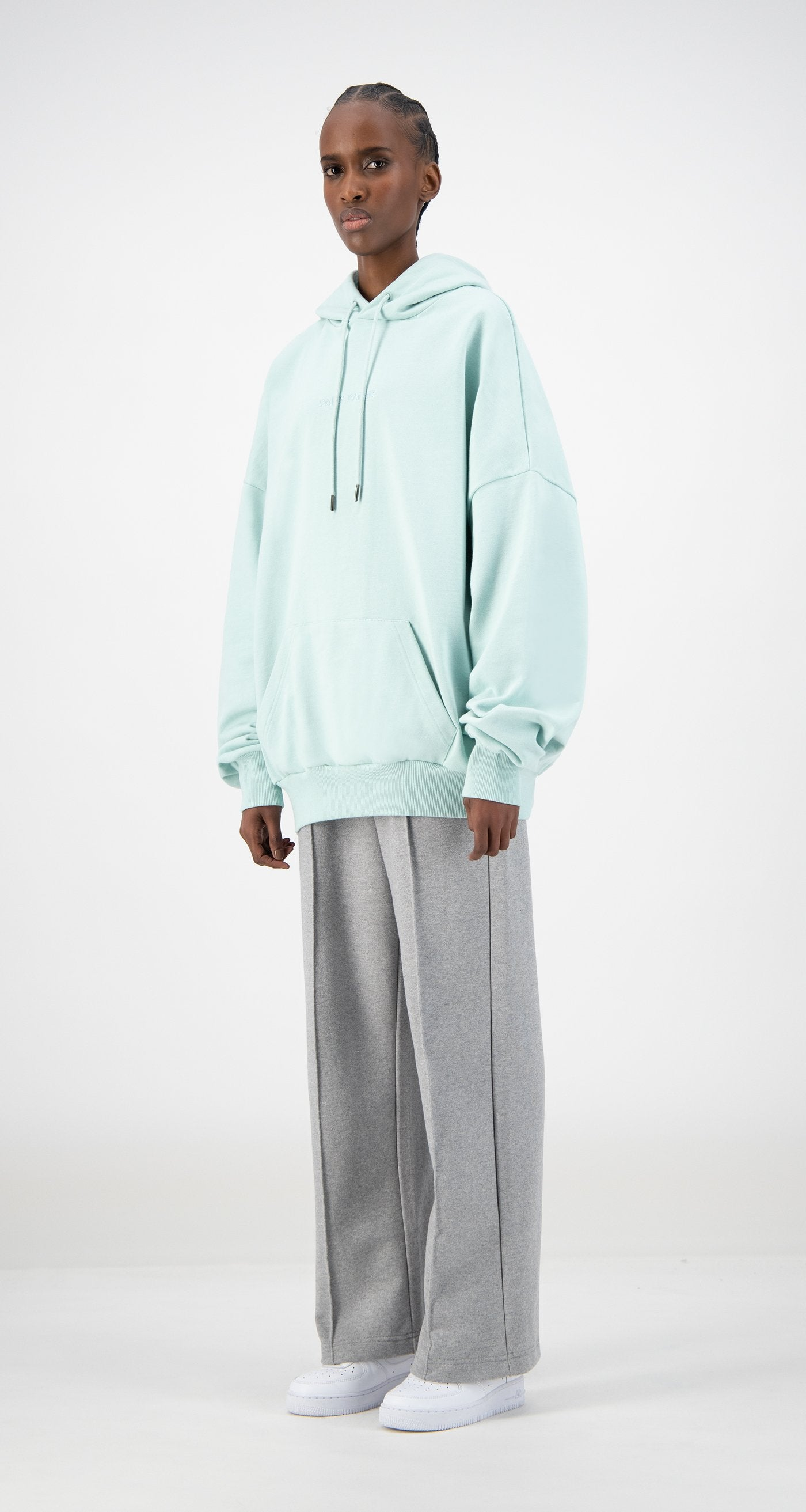 Daily Paper - Pastel Turquoise Ecar Hoody - Women