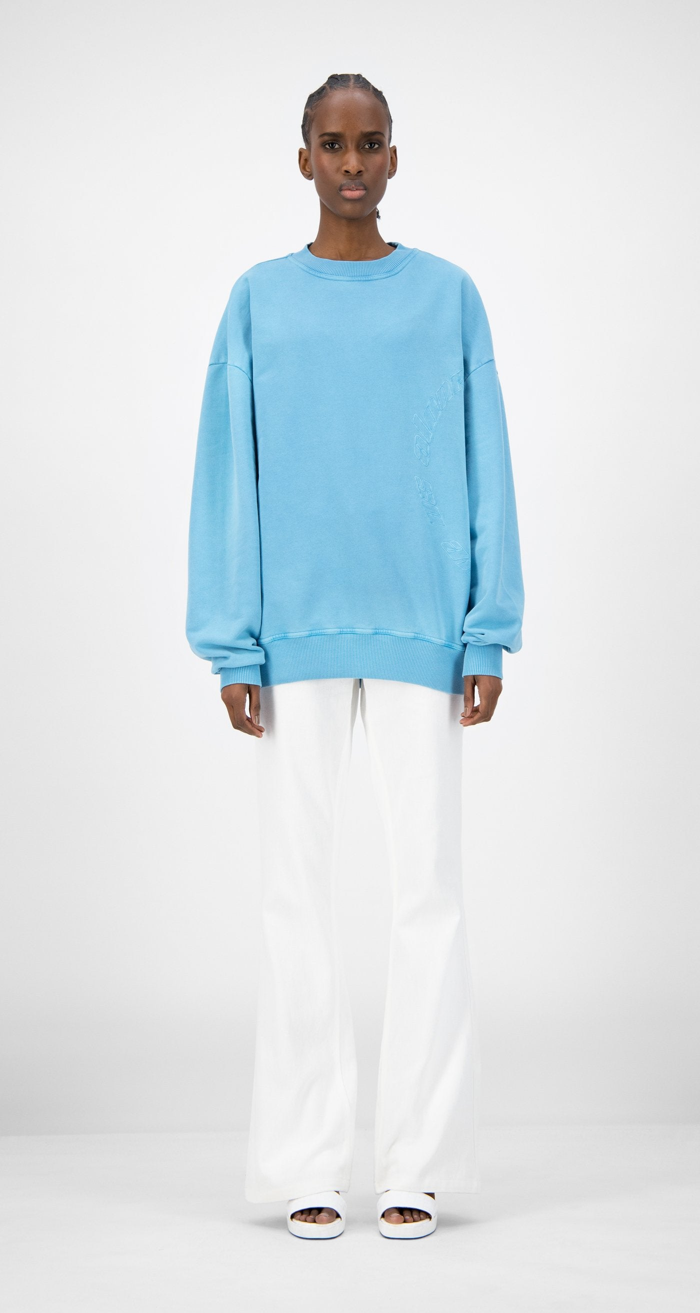 Daily Paper - Swedish Blue Kerspla Sweater - Women Front