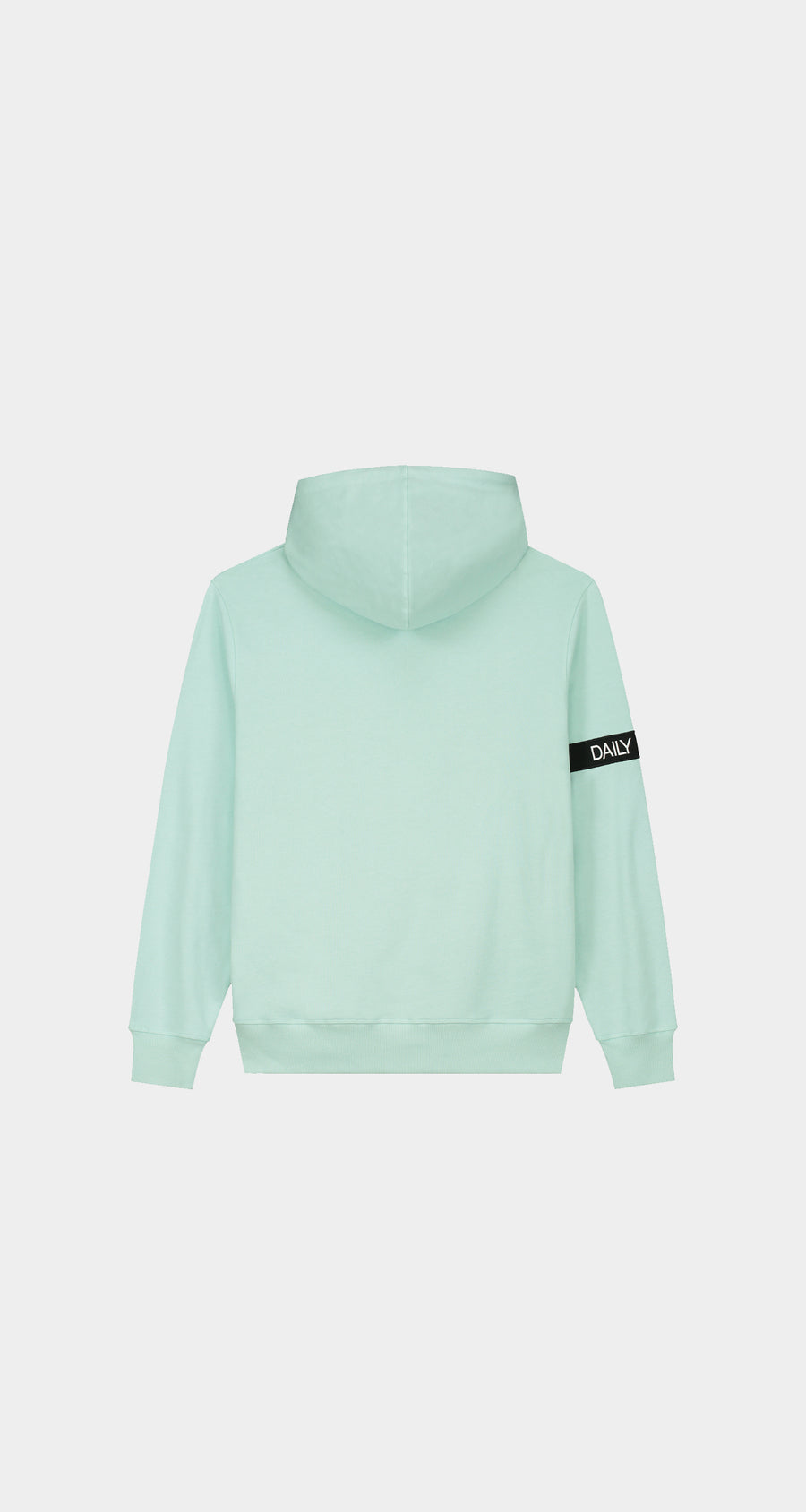 Daily Paper - Pastel Turquoise Captain Hoody - Men Rear