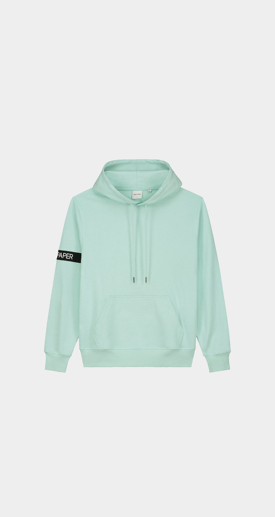 Daily Paper - Pastel Turquoise Captain Hoody - Men Front