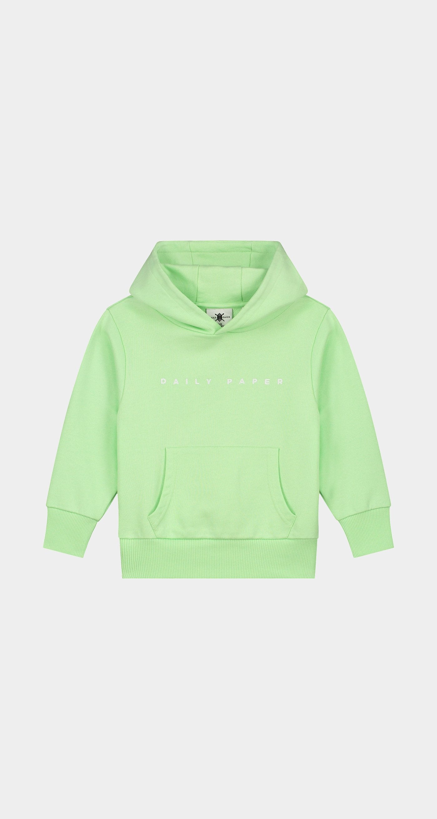 Daily Paper - Patina Green Kids Alias Hoody Front