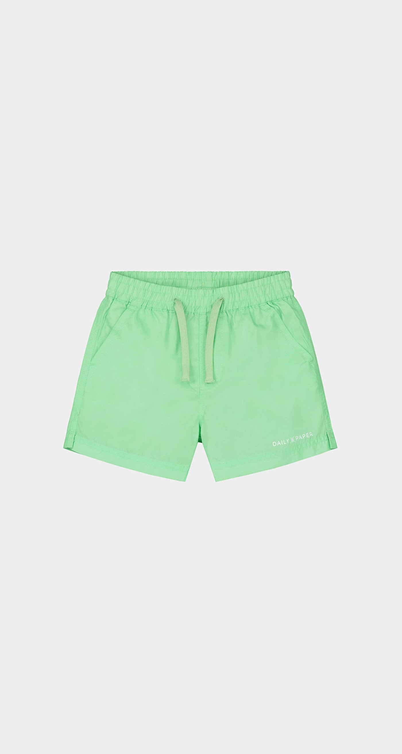 Daily Paper - Patina Green Kids Swim Shorts Front