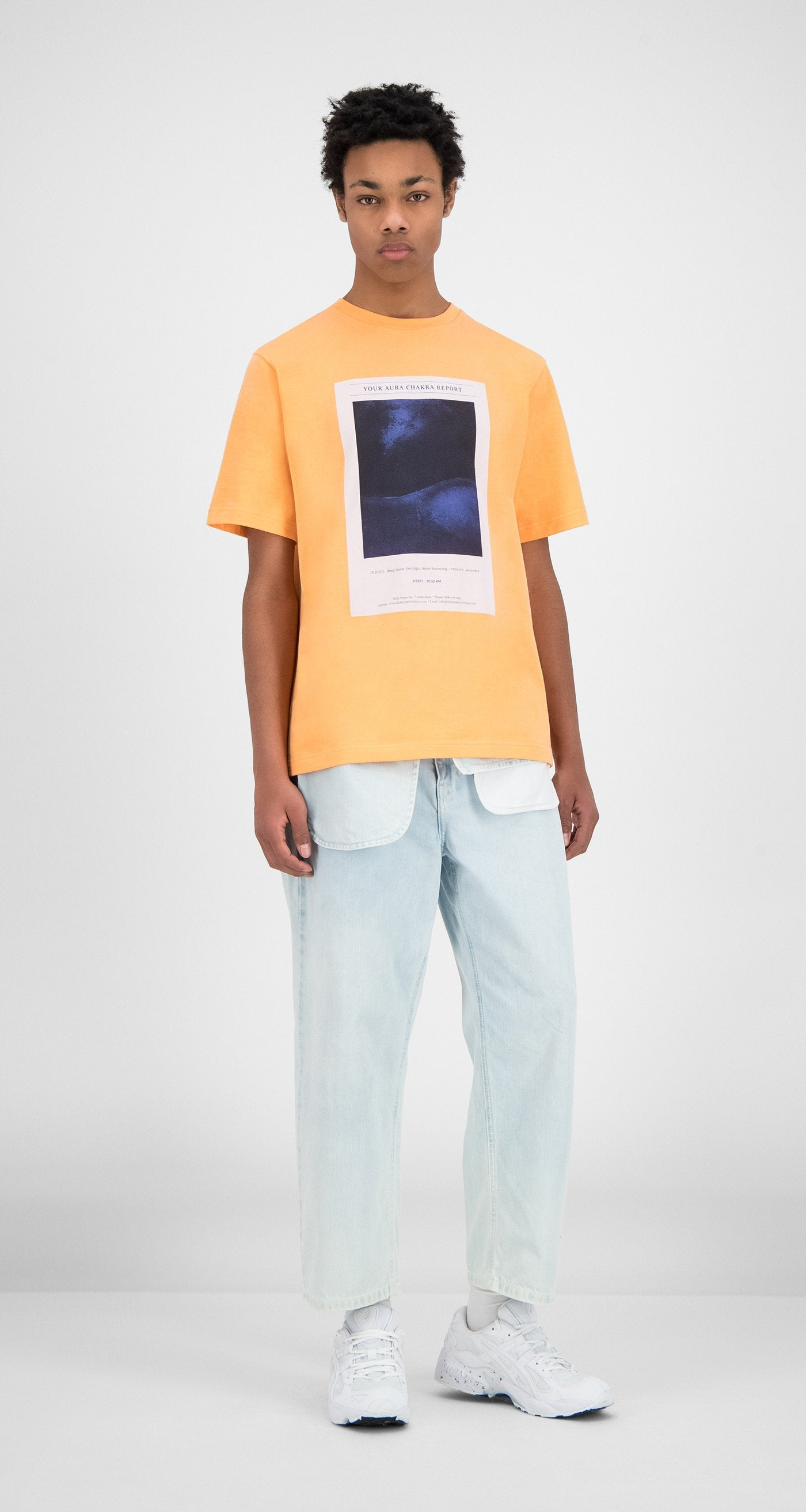 Daily Paper - Peach Hencan T-Shirt - Men