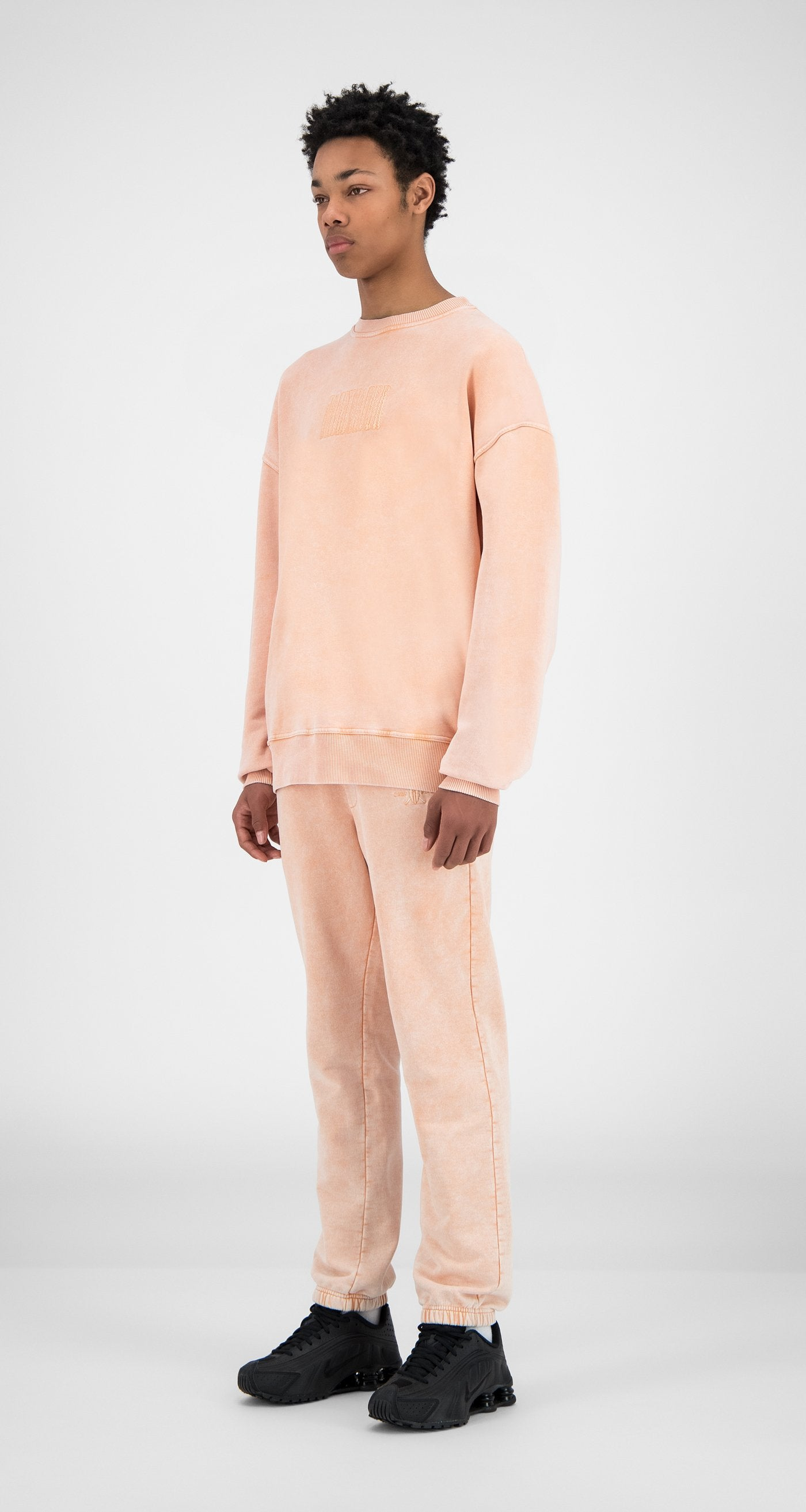 Daily Paper - Washed Peach Heracid Sweater - Men - Side