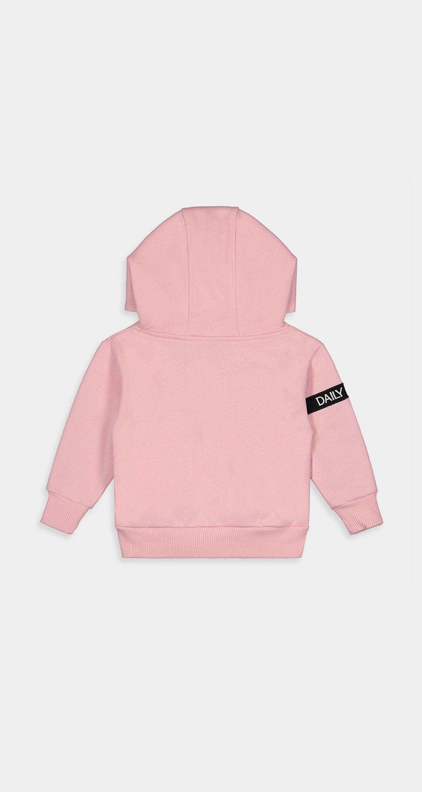 Daily Paper - Pink Kids Captain Hoody Rear