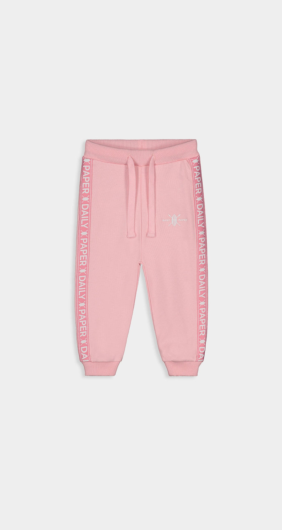 Daily Paper - Pink Kids Tape Logo Track Pants Front
