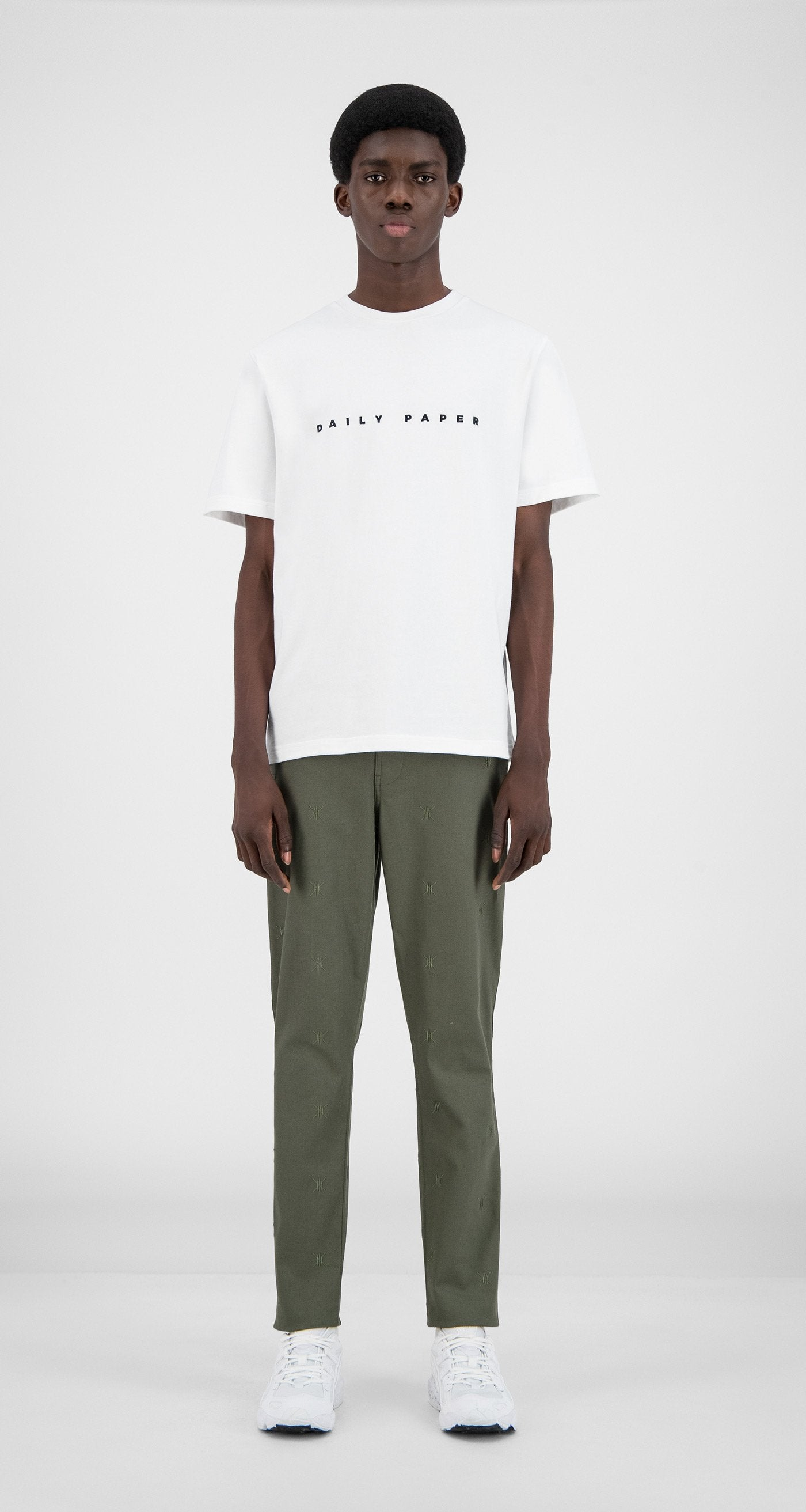 Daily Paper - Grape Leaf Green Kenya Pants - Men Front